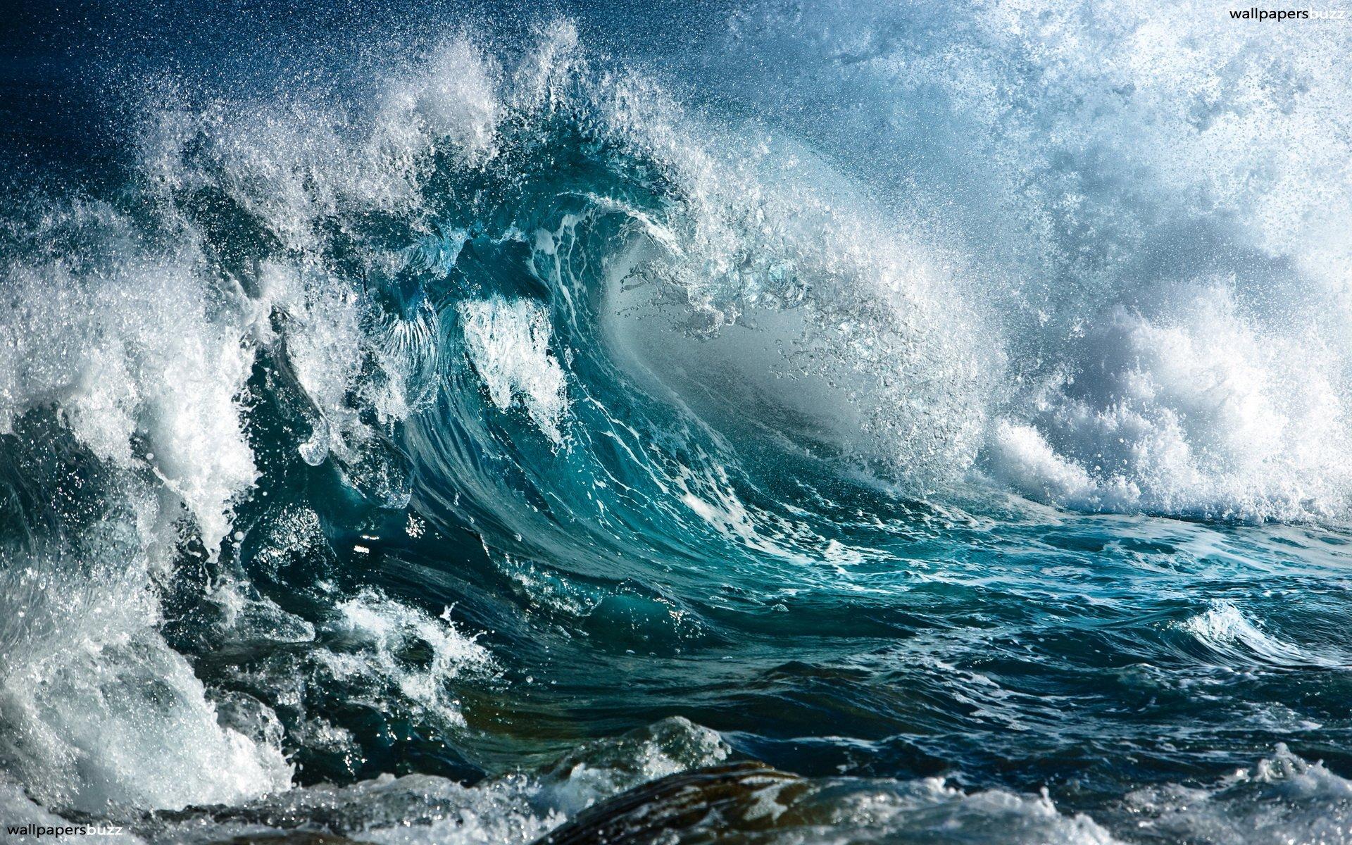 Sea waves HD Wallpaper