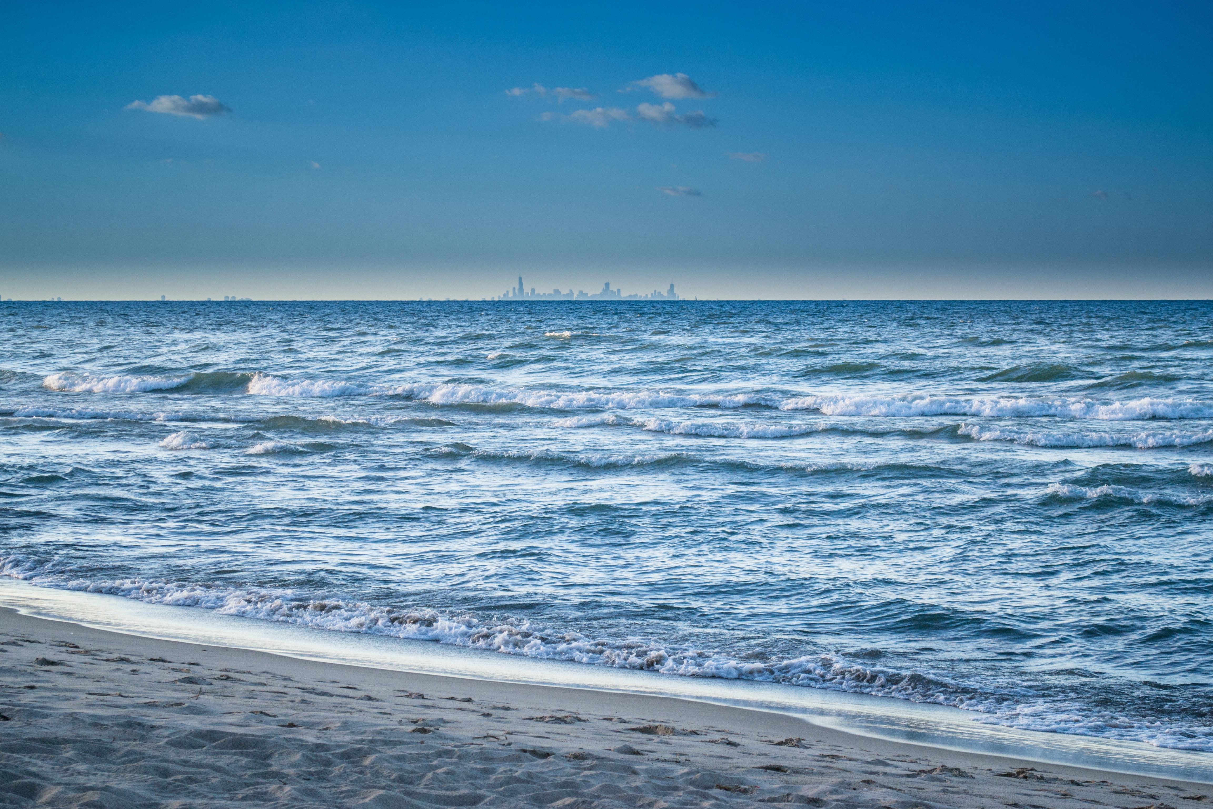 Sea Waves, Beach, Sea, Waves, Water, HQ Photo