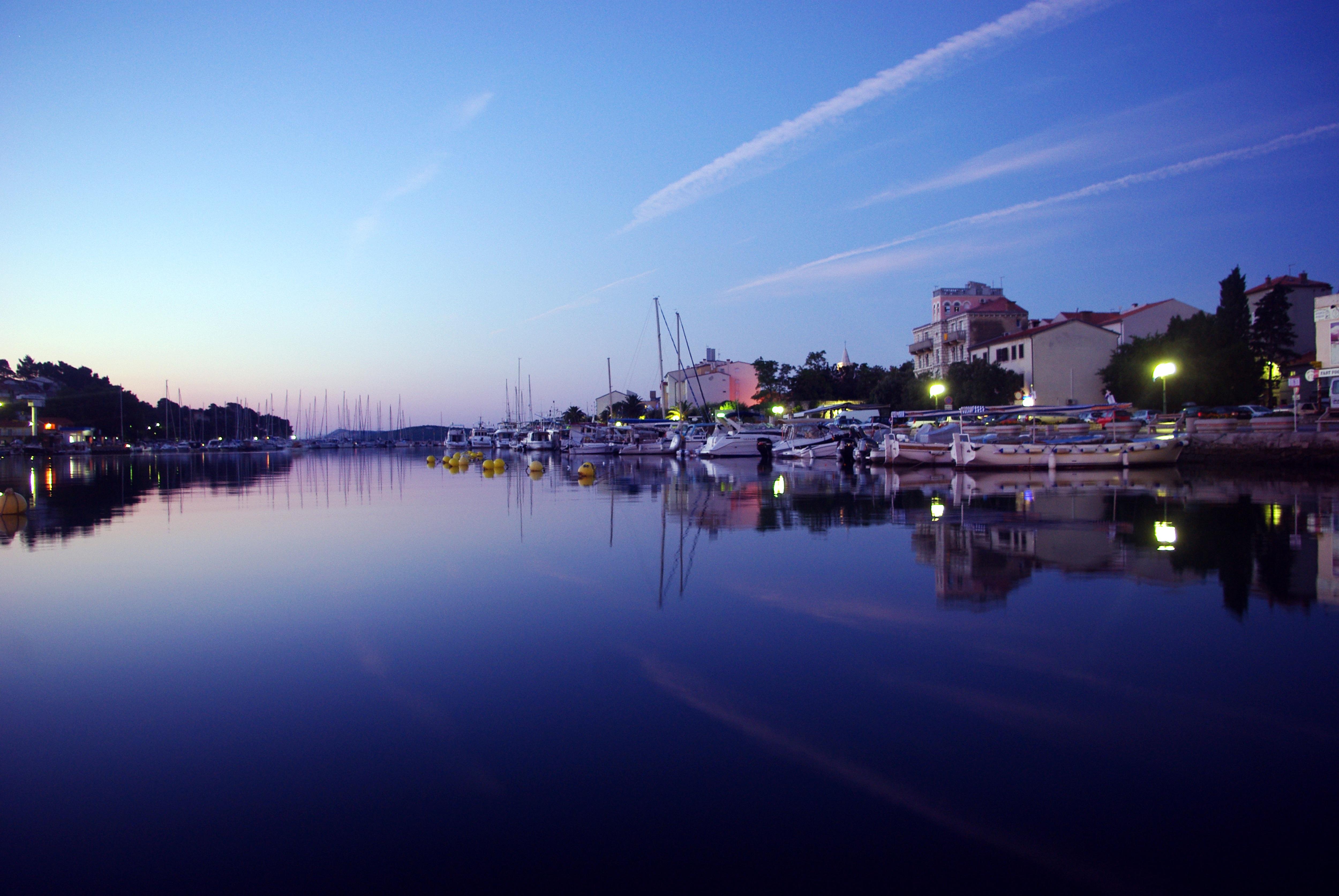 Sea, Boats, Construction, House, River, HQ Photo