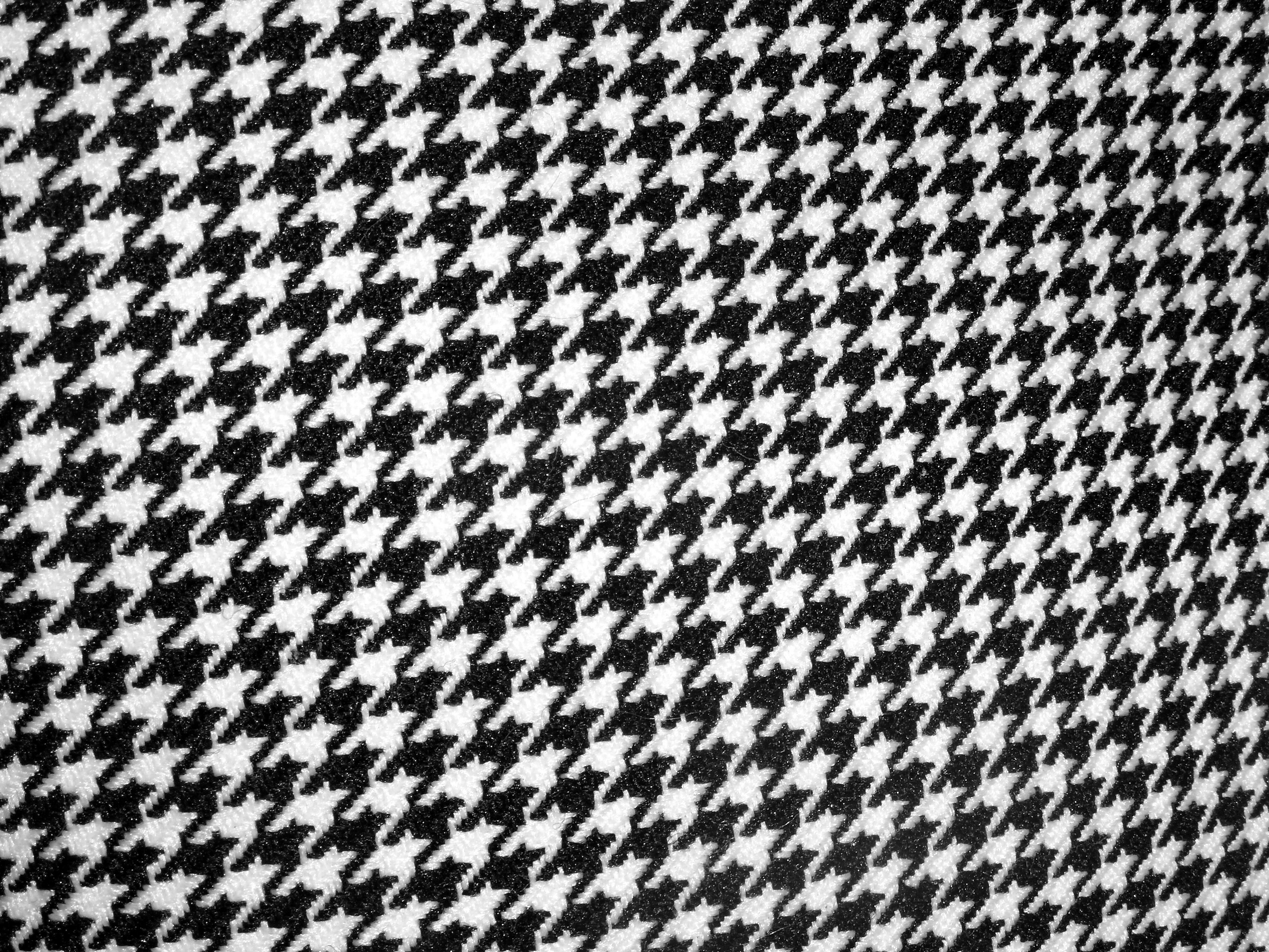 Seamless black and white pattern photo