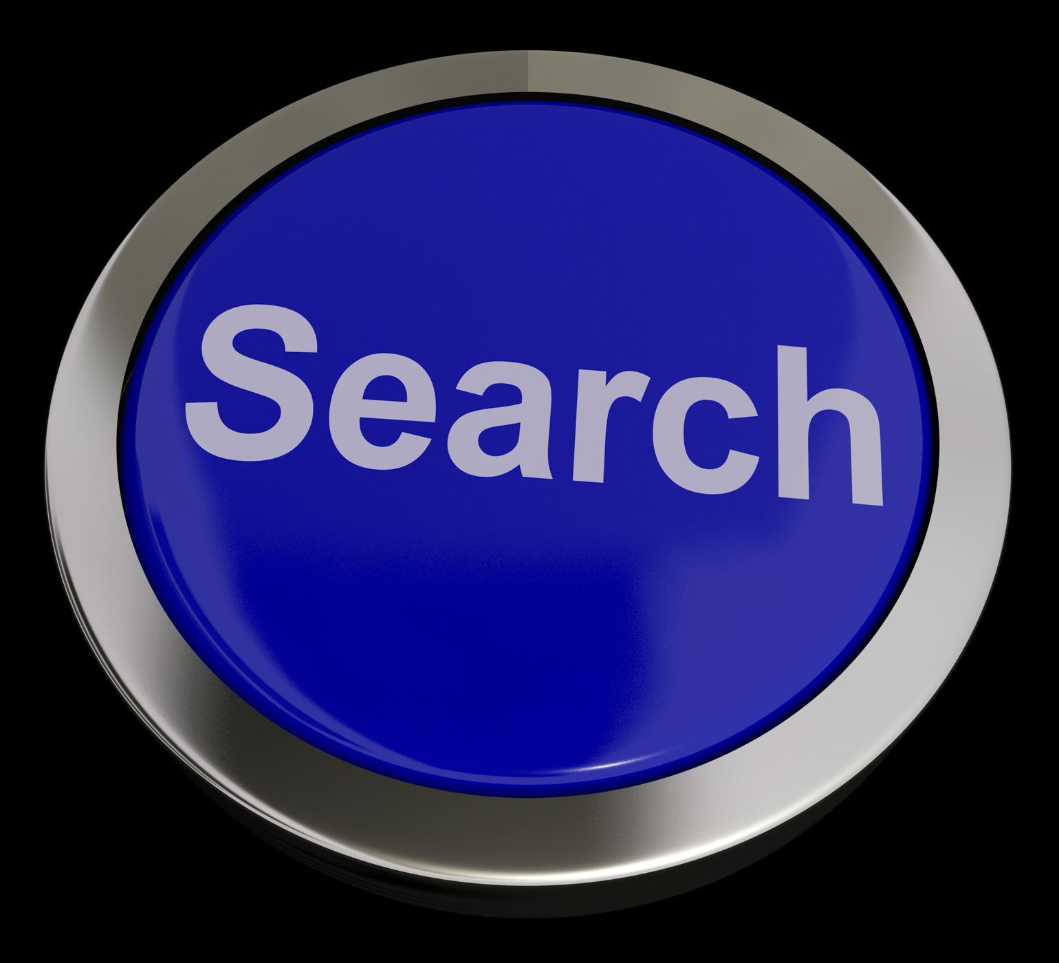 Search button showing internet access and online research photo