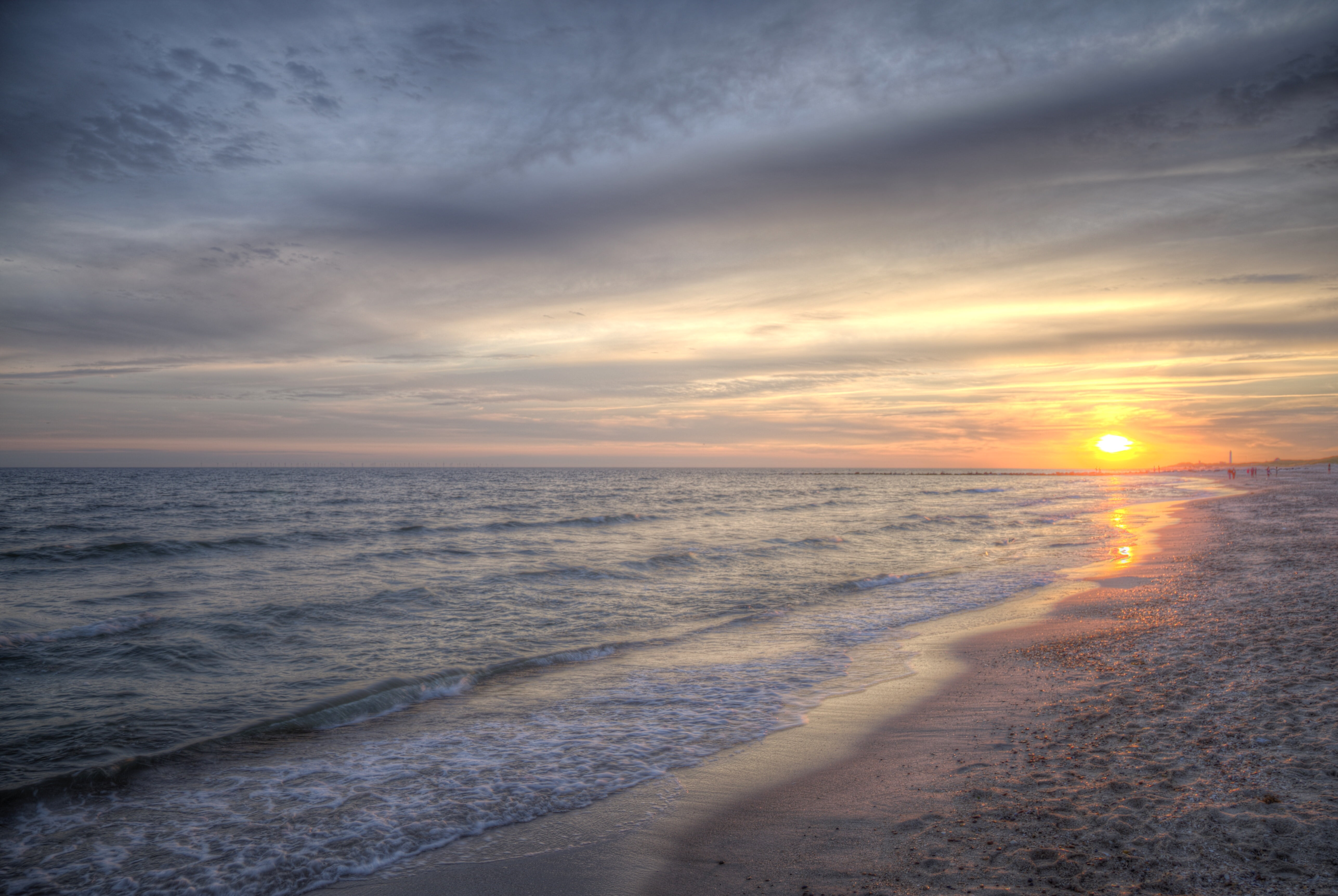Ocean near seashore during sunrise HD wallpaper | Wallpaper Flare