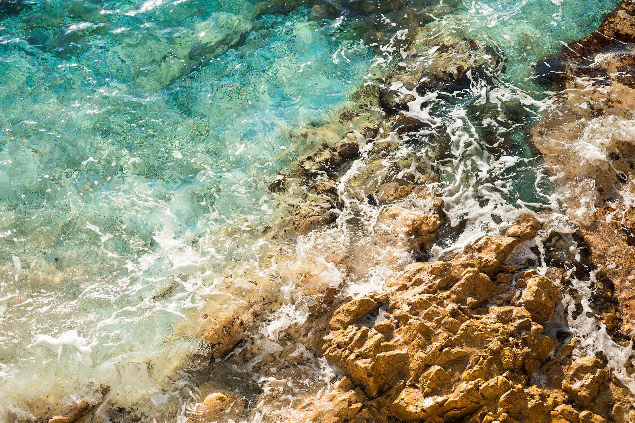Seaside Rocks Close Up Free Stock Photo Download | picjumbo