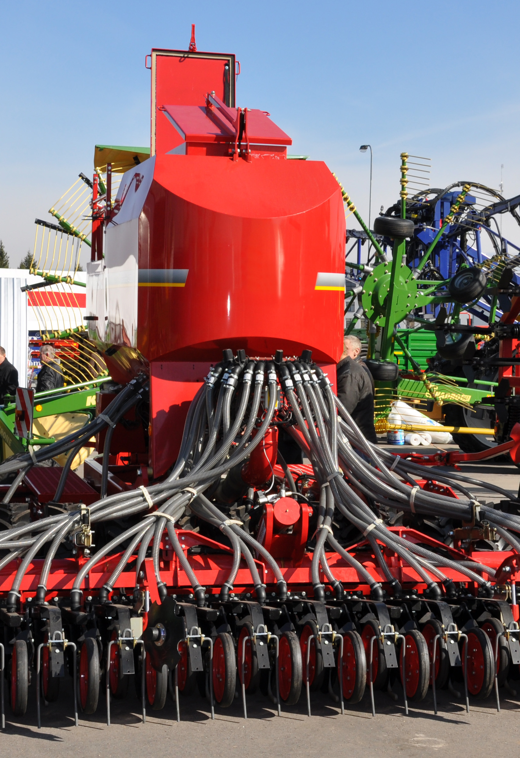Seeder, Agricultural, Transportation, Transport, Trailer, HQ Photo