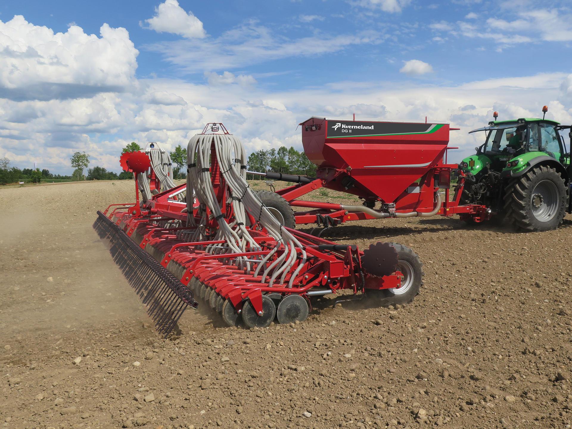 Seed Drills / Seeding Equipment / Kverneland brand Corporate site ...