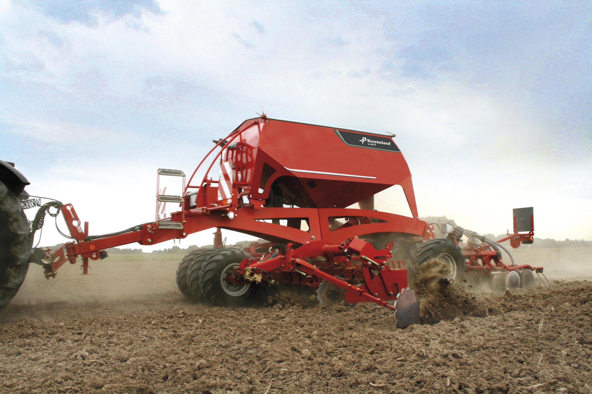 Kverneland u-drill / Seed Drills / Seeding Equipment / Kverneland ...