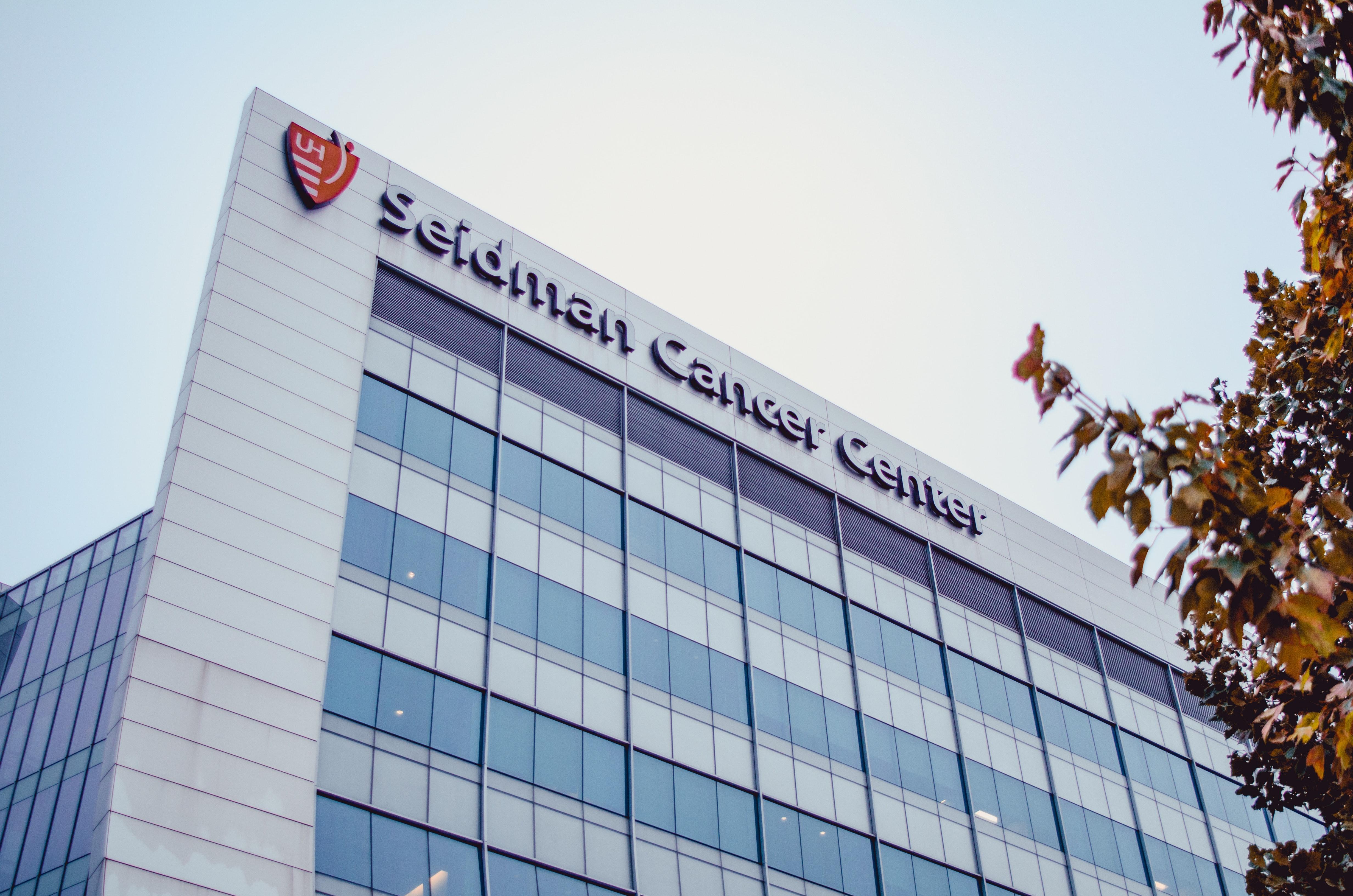 Seidman Cancer Center Building at Daytime, Architectural design, Glass windows, Tallest, Skyscraper, HQ Photo