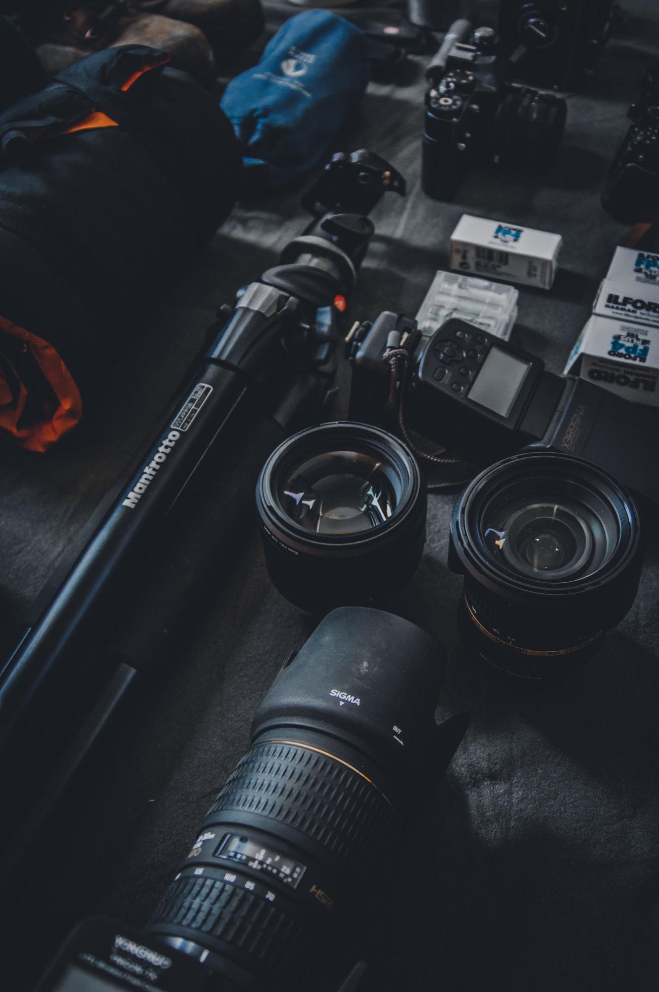 Selective Focus Photography of Dslr Camera Parts, Photography, Parts, Technology, Optics, HQ Photo