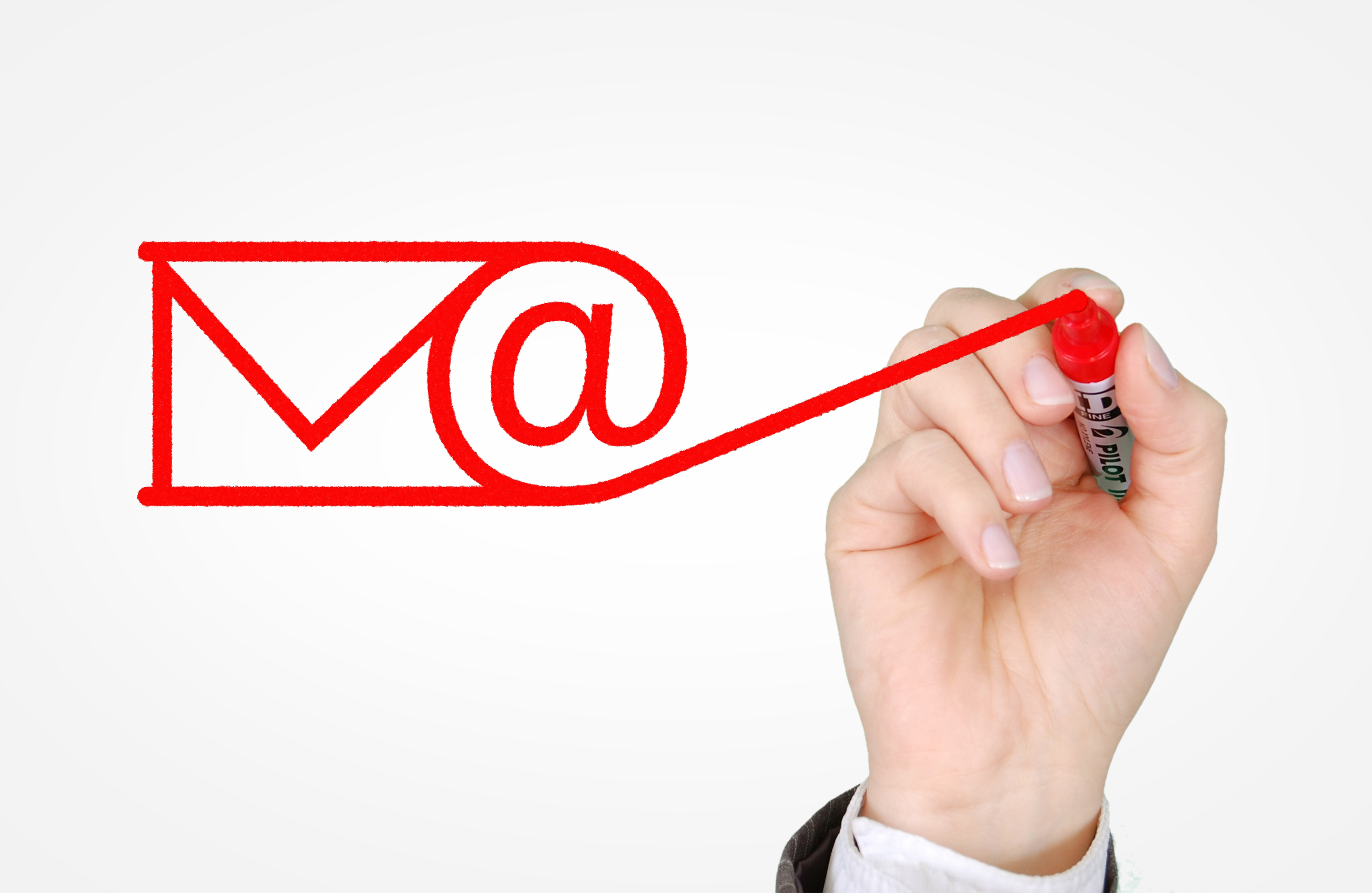 Sending E-mail Concept - Email and Newsletters Campaign, Address, Message, Pen, Opportunity, HQ Photo