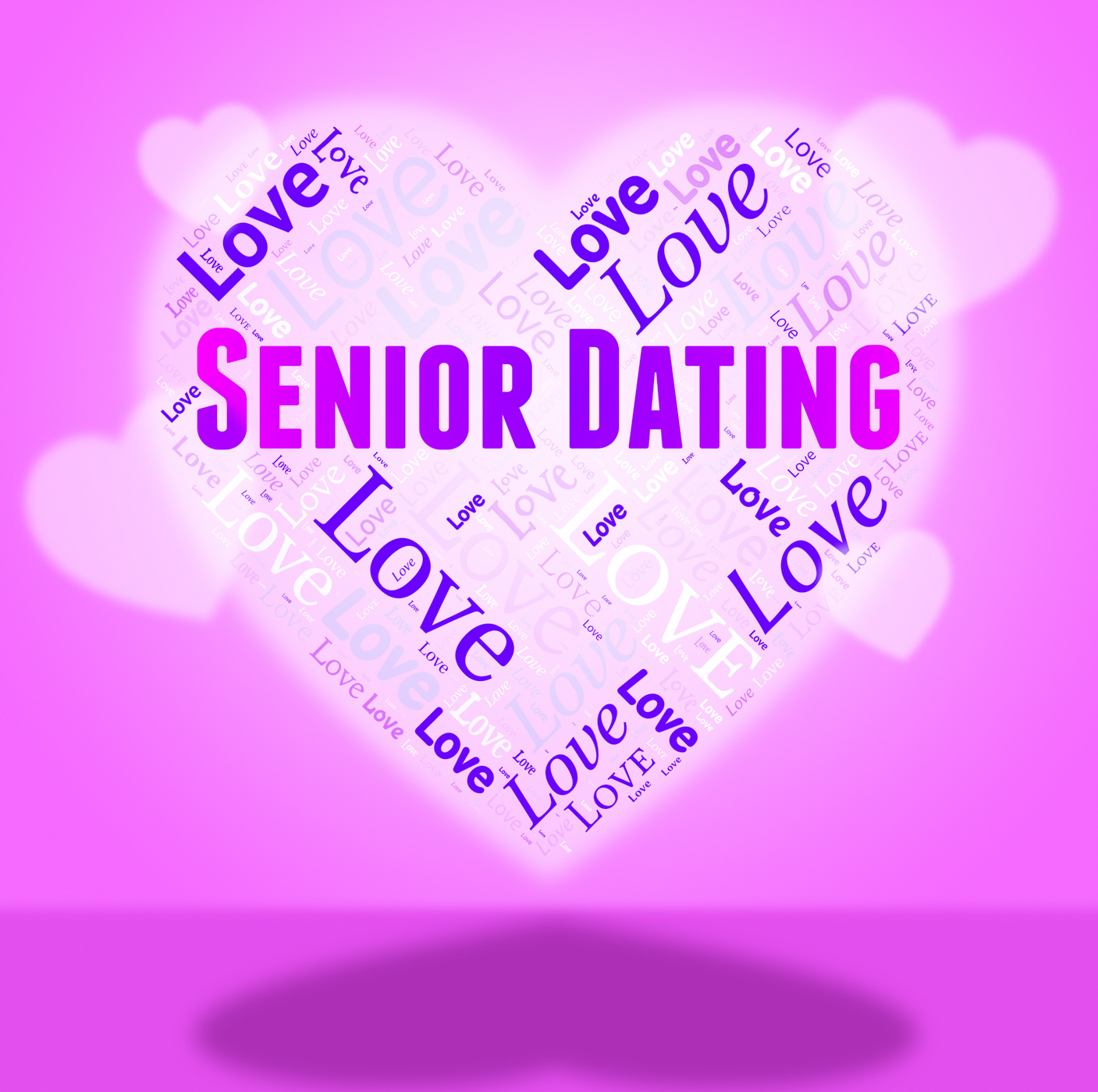 Senior dating represents retired sweethearts and dates photo