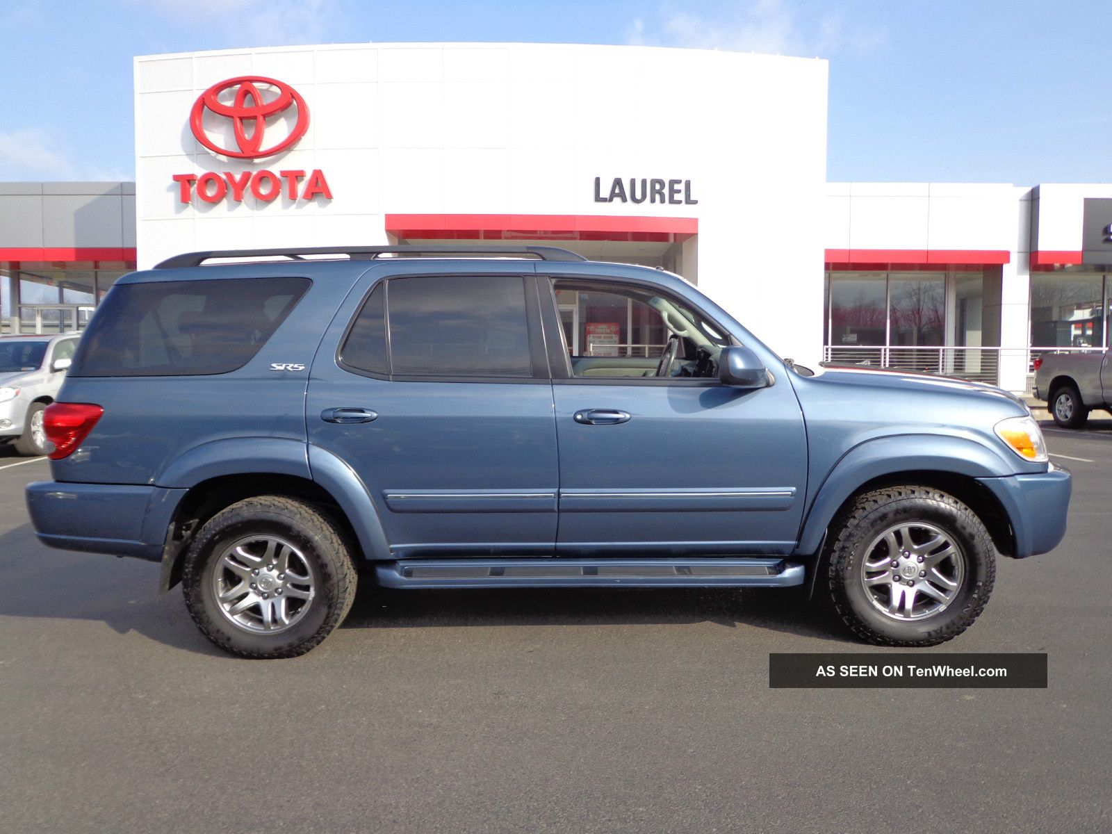 2007 Toyota Sequoia Sr5 4. 7l V8 4wd 3rd Row Seats Video