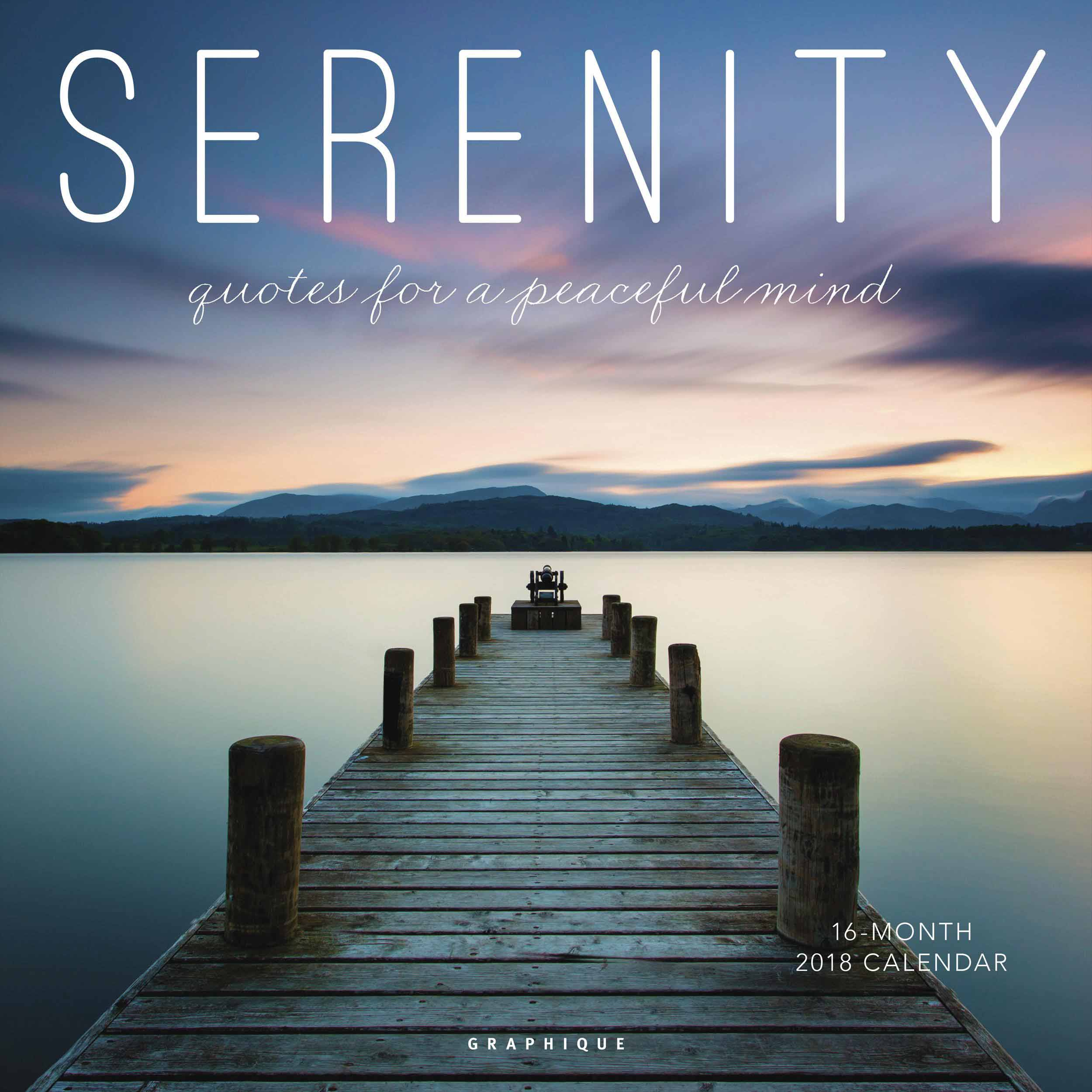 Serenity Calendar 2018 - Calendar Club UK