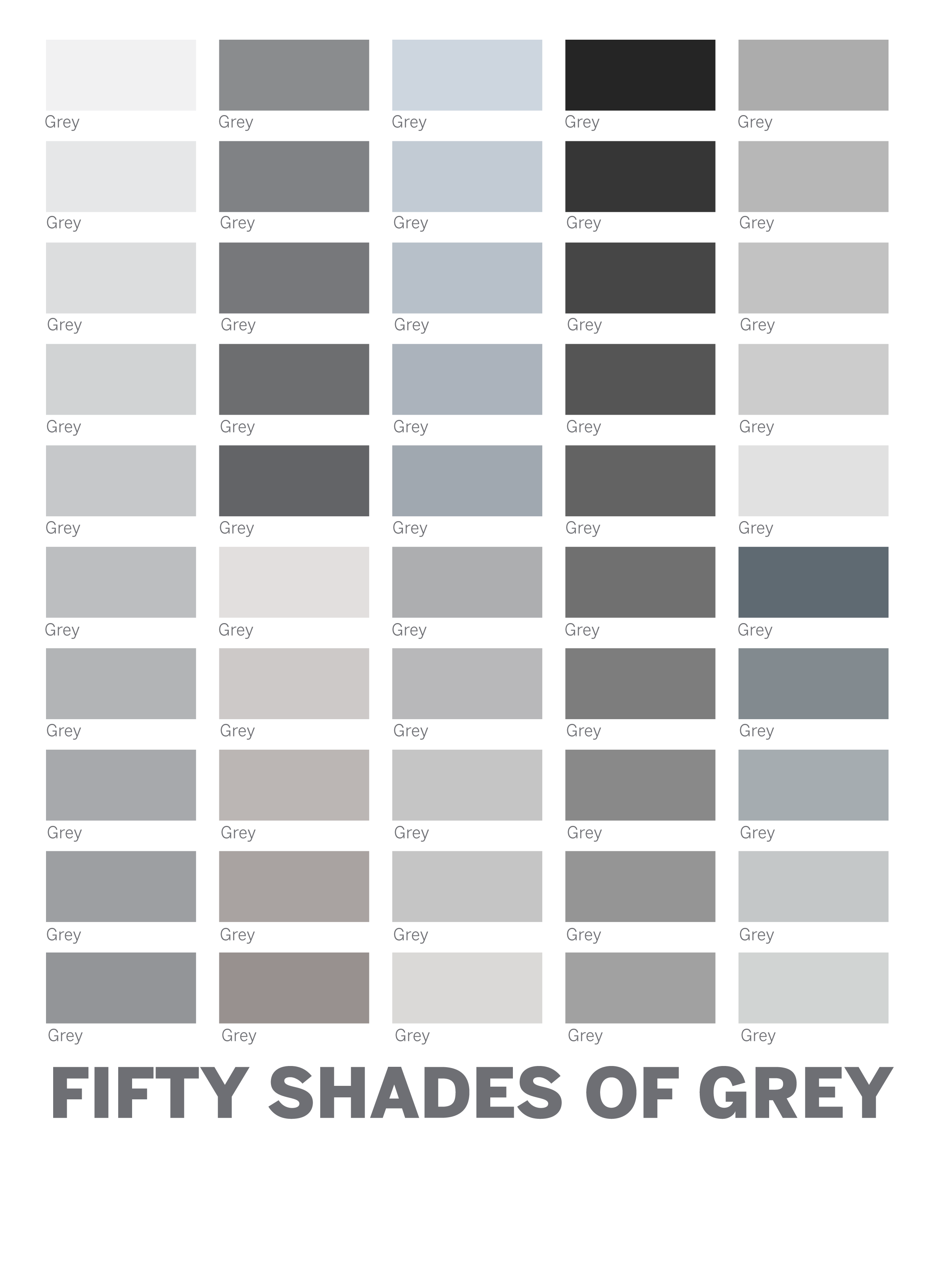 50 shades of gray paragraph