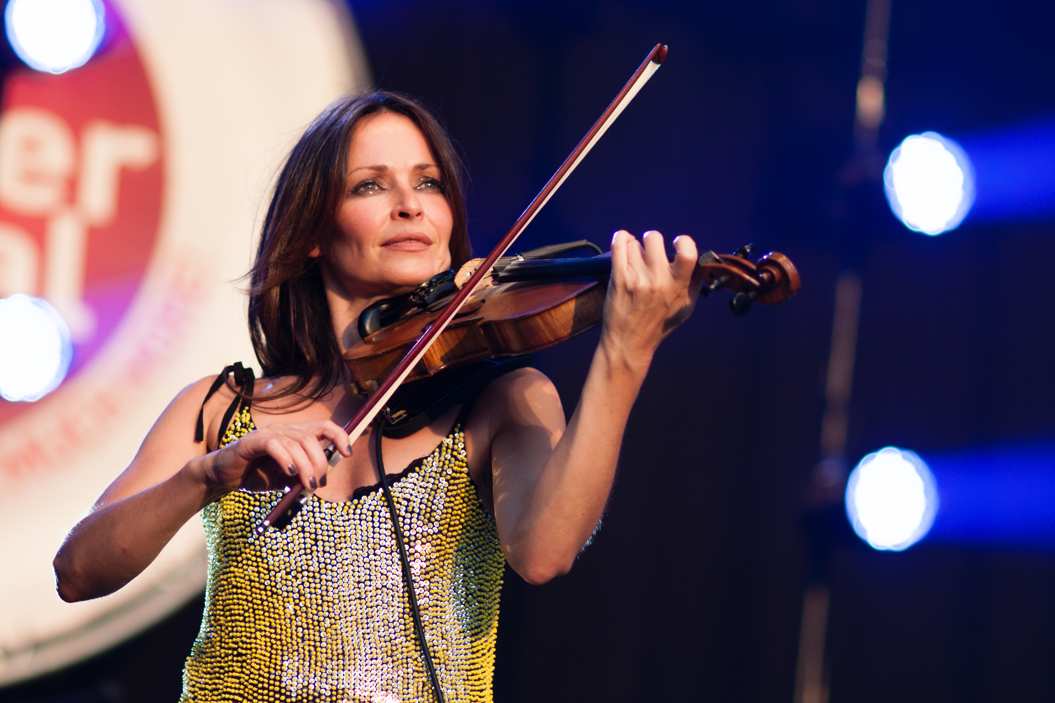 Sharon corr @ brussels summer festival 2012 photo