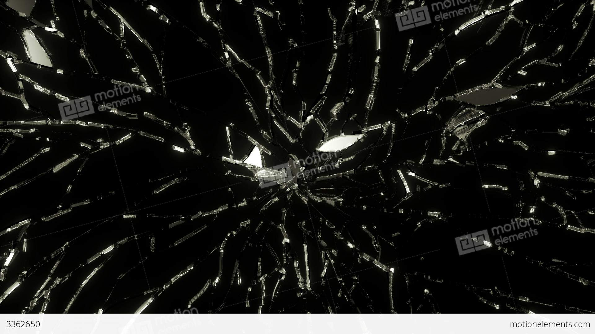Shattered glass photo
