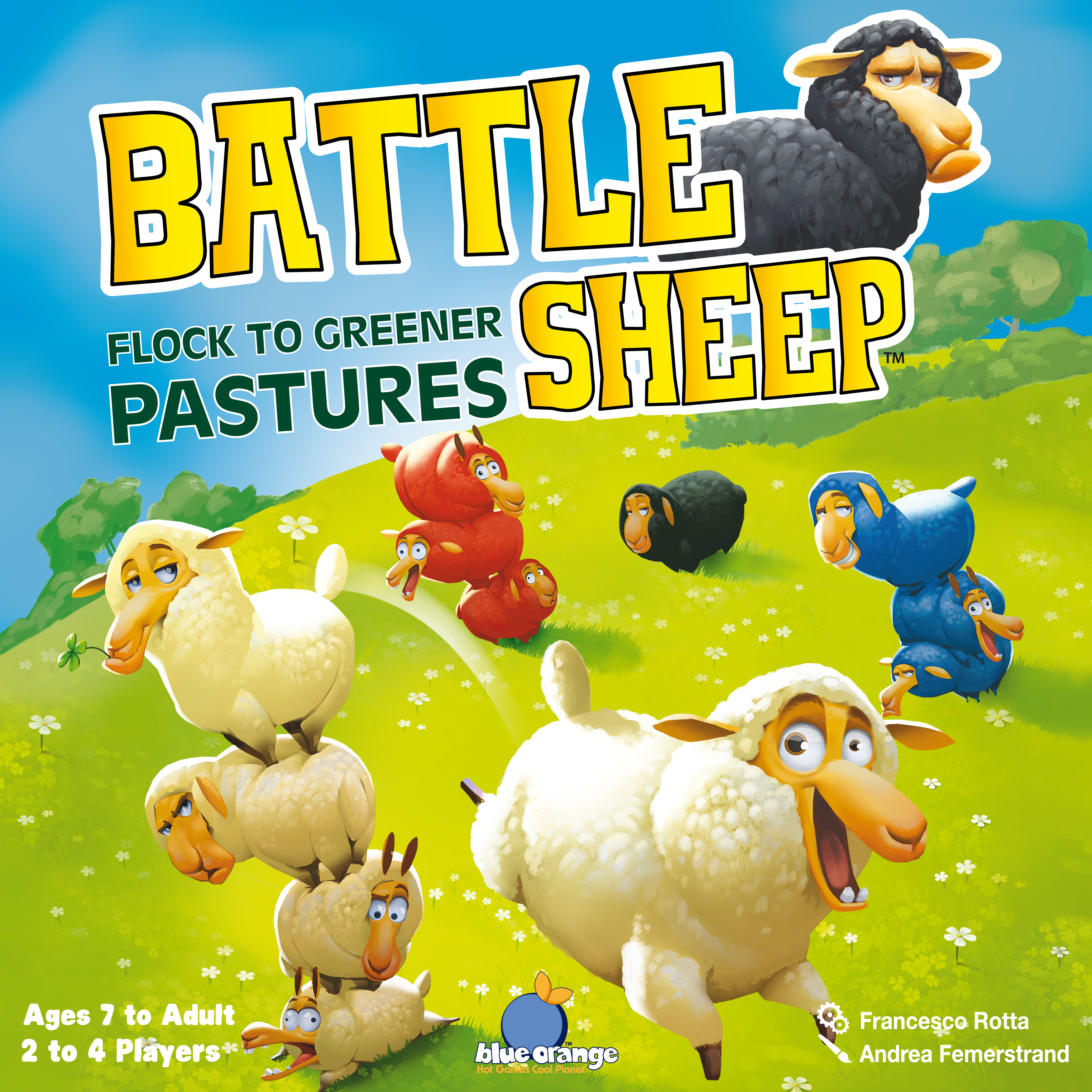 Sheep battle photo
