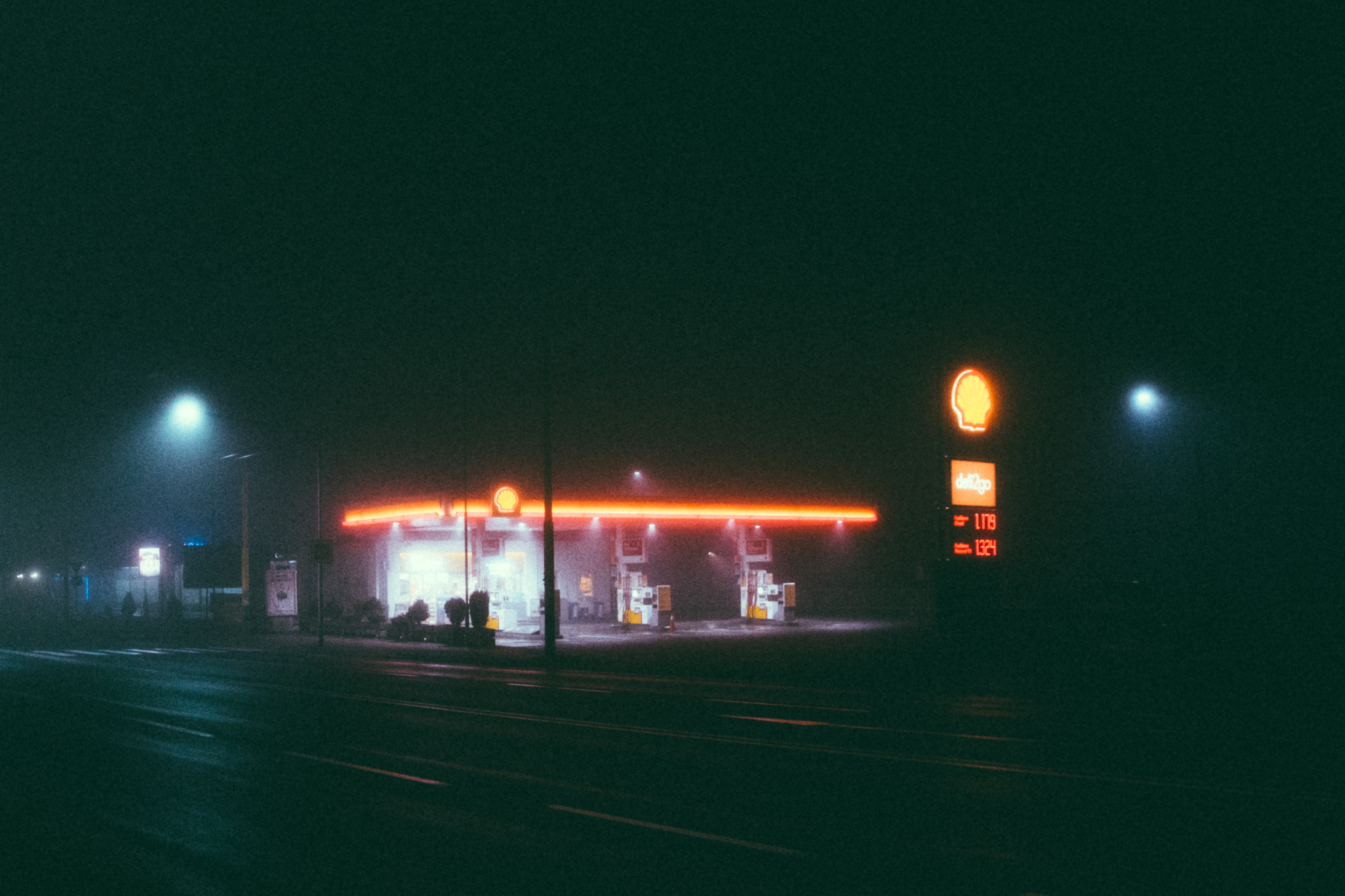 Shell fuel station photo
