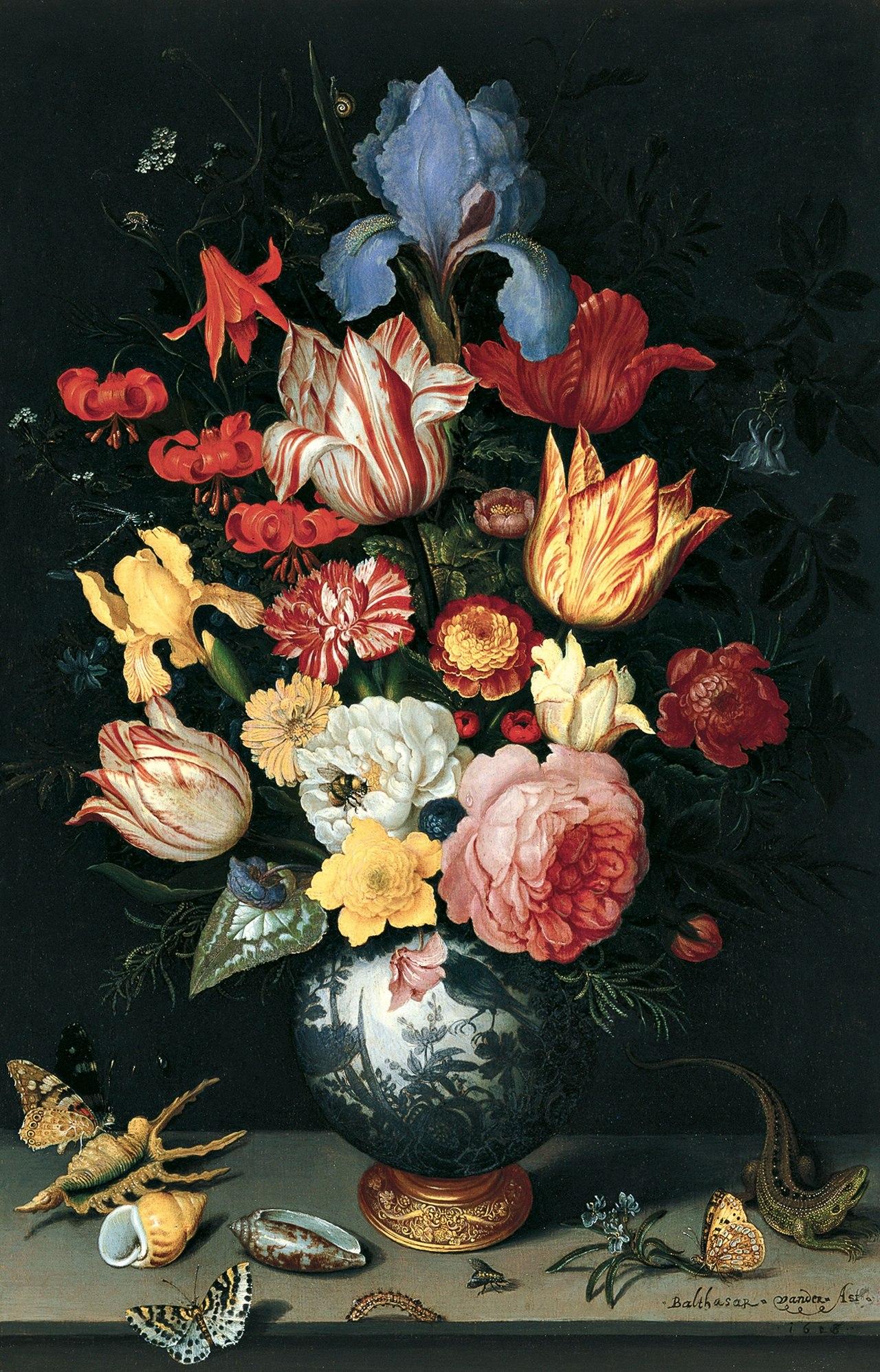 Shell n flower photo