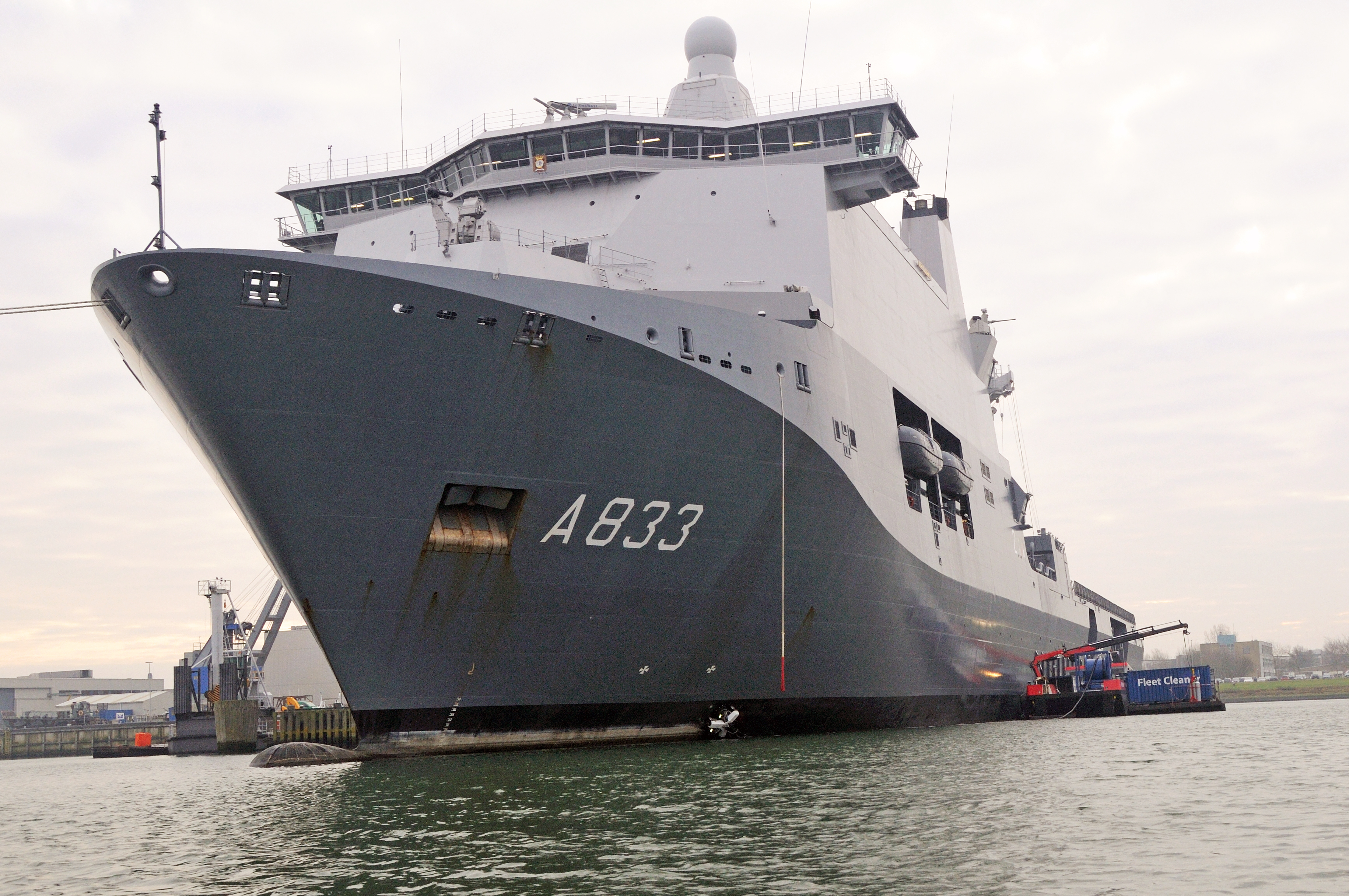 Fleet Cleaner completes first ship hull cleaning - Fleet Cleaner