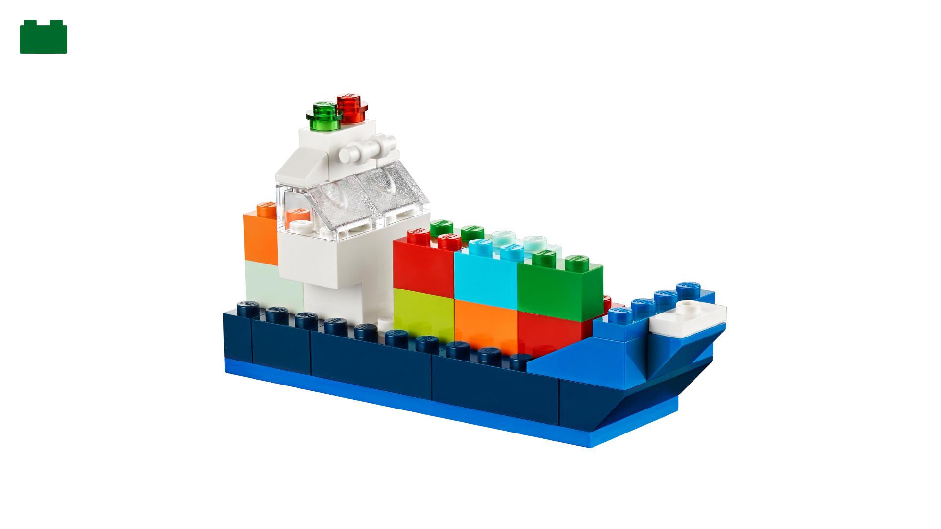 Cargo ship - - LEGO® Classic - LEGO.com US