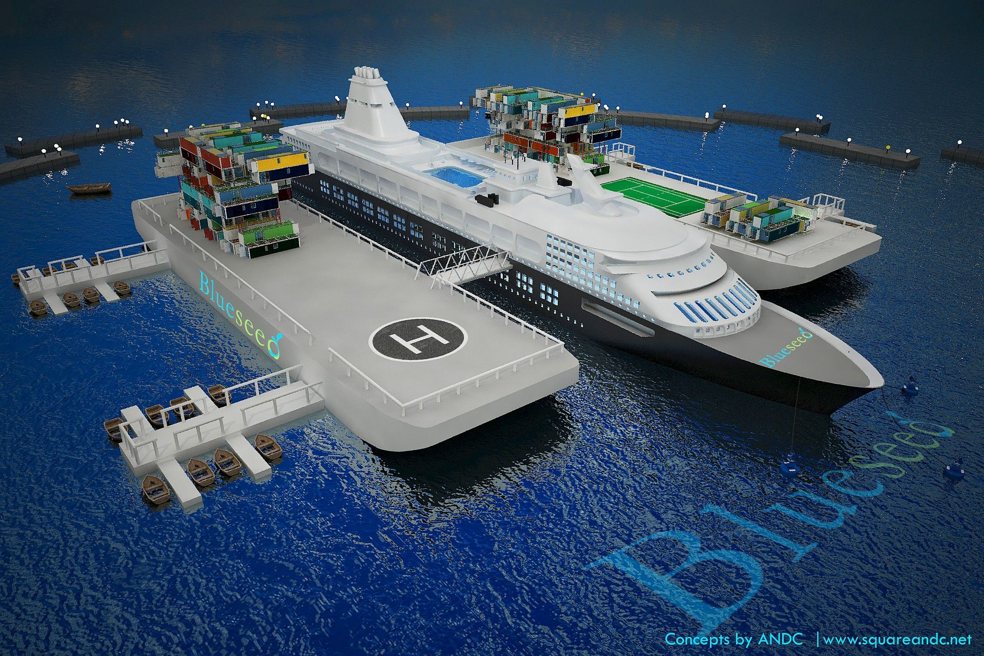 Ship | Blueseed – the startup community on a ship