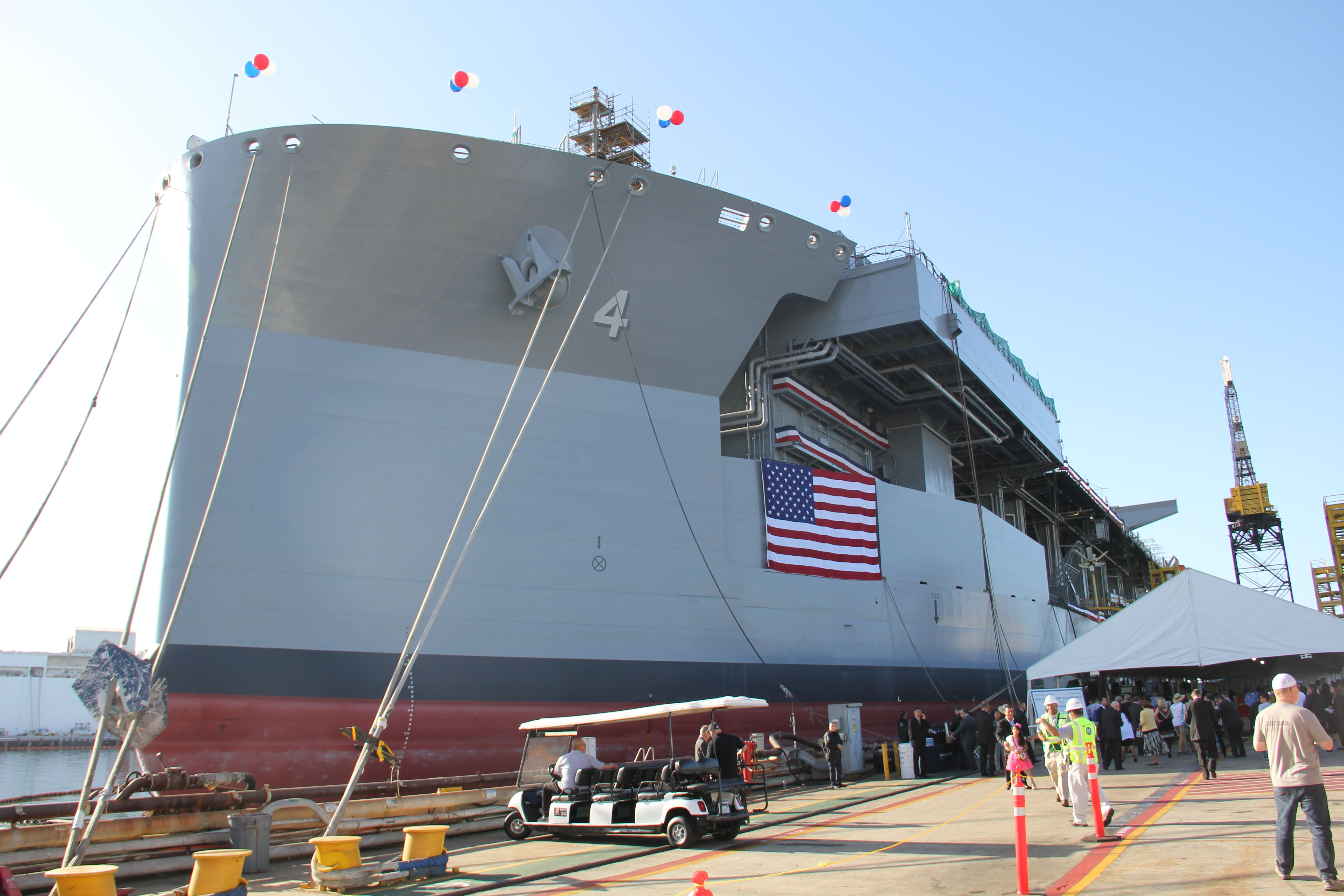 Who You Calling Ugly? The Navy's New Ship Is a Floating Swiss Army Knife