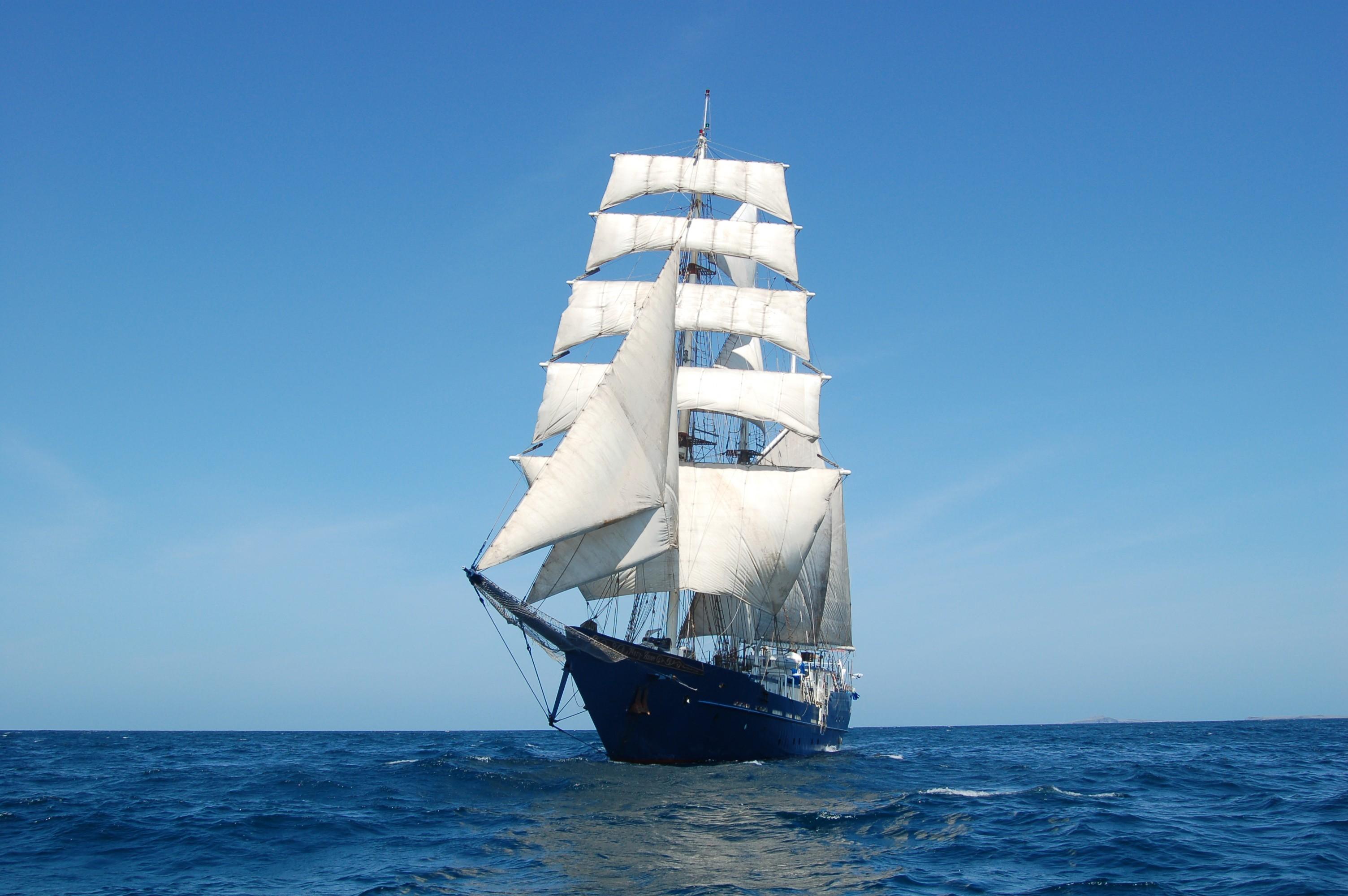 Sailing ship at sea - Download Hd Sailing ship at sea wallpaper for ...