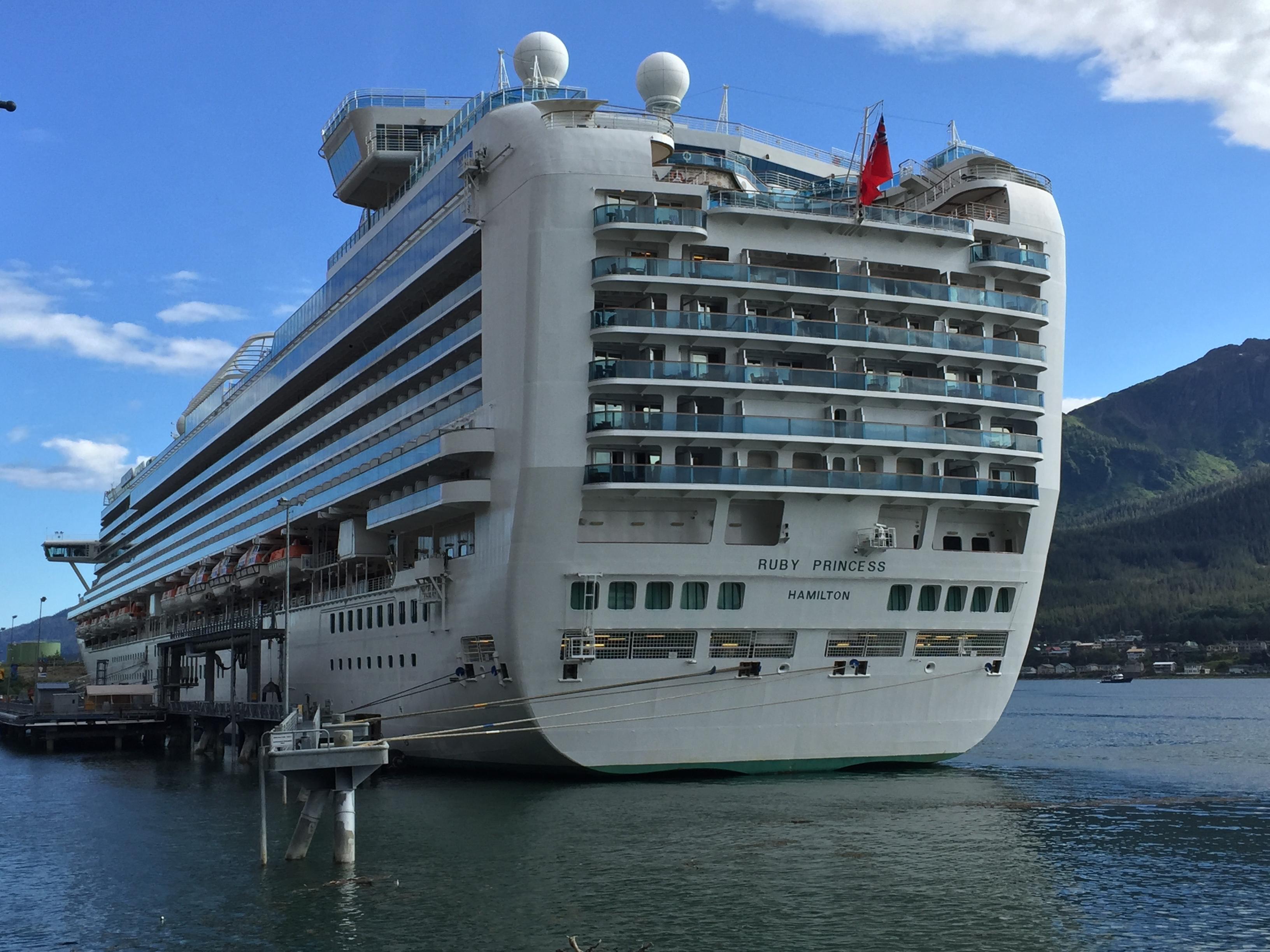 Ship's aft photo