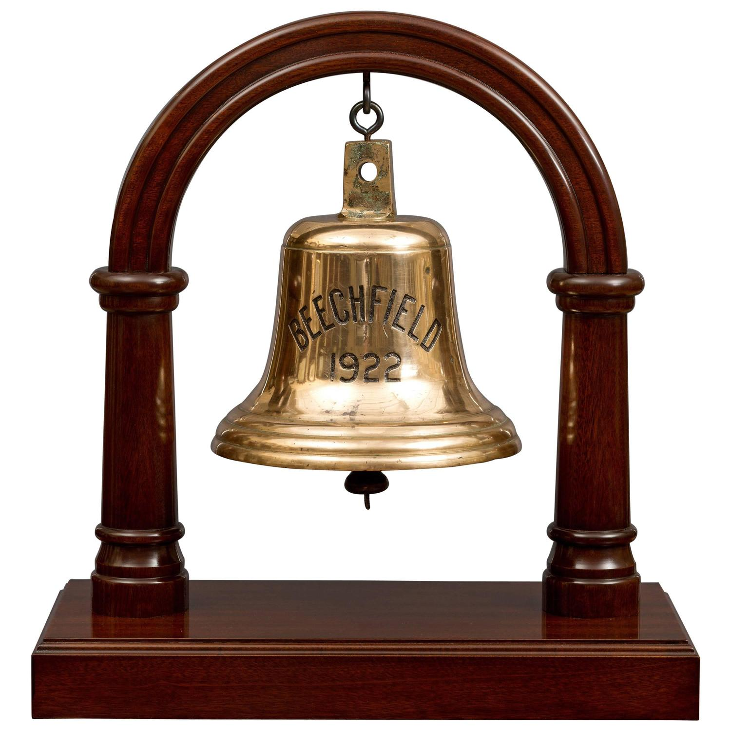 Antique Ships Bell from S.S. Beechfield For Sale at 1stdibs
