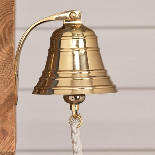 Solid Brass Ship's Bell - Kitchen