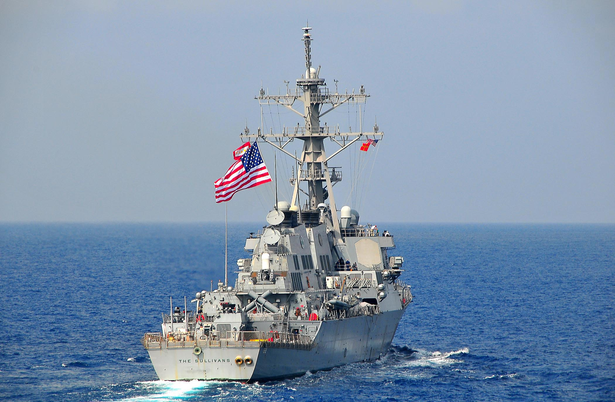 File:US Navy 090213-N-4774B-039 The guided-missile destroyer USS The ...
