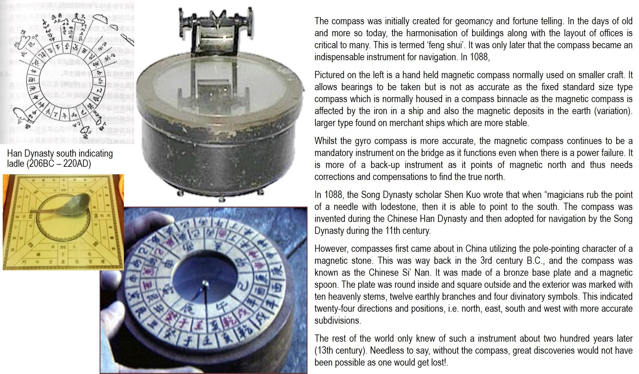Item #35: Handheld Magnetic Compass | Maritime Heritage eMuseum