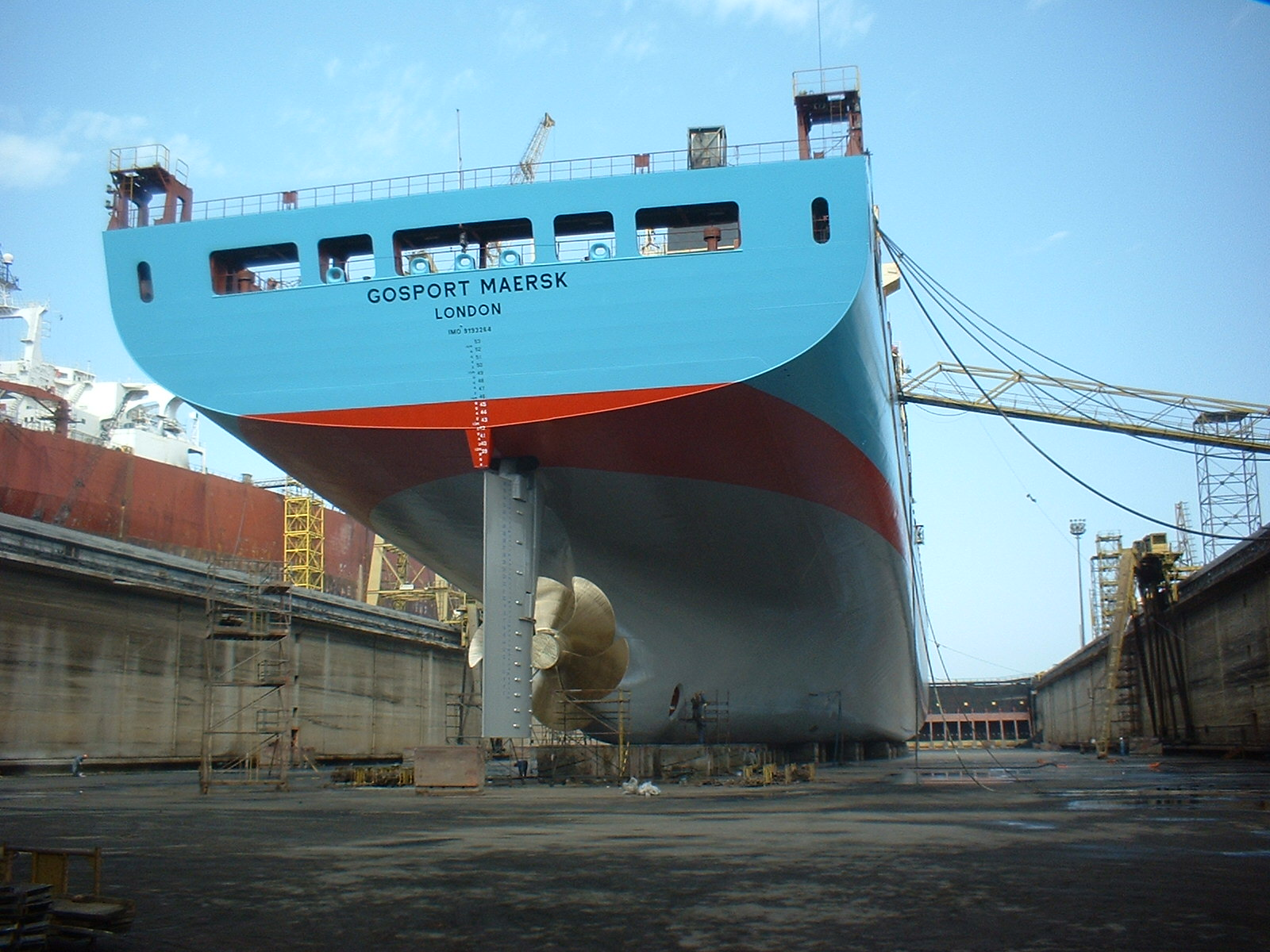 What is Extended Dry-Docking of Ships?