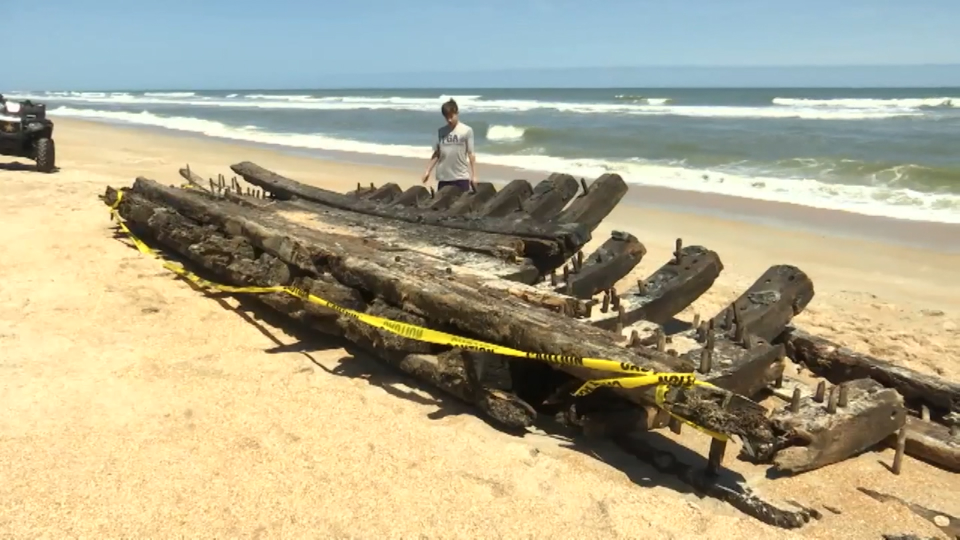 18th century shipwreck washes up in Florida - CNN Video