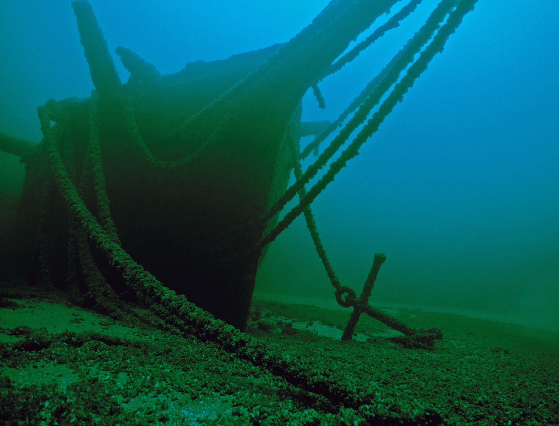 The Thomas Hume bow by Robert Underhill, MSRA | Michigan Shipwreck ...
