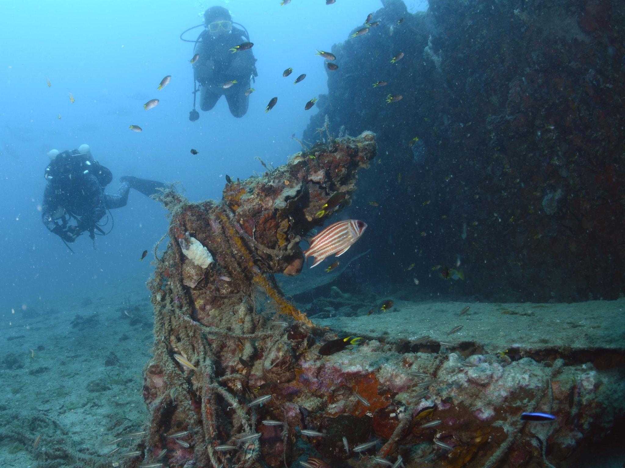 Far North Queensland Historic Shipwreck Dive Trail - Journey ...