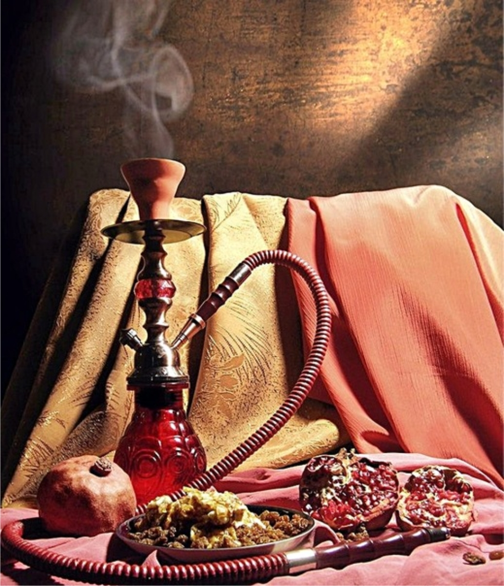 Shisha and Fruit, Smoke, Tobacco, Shisha, Pipe, HQ Photo
