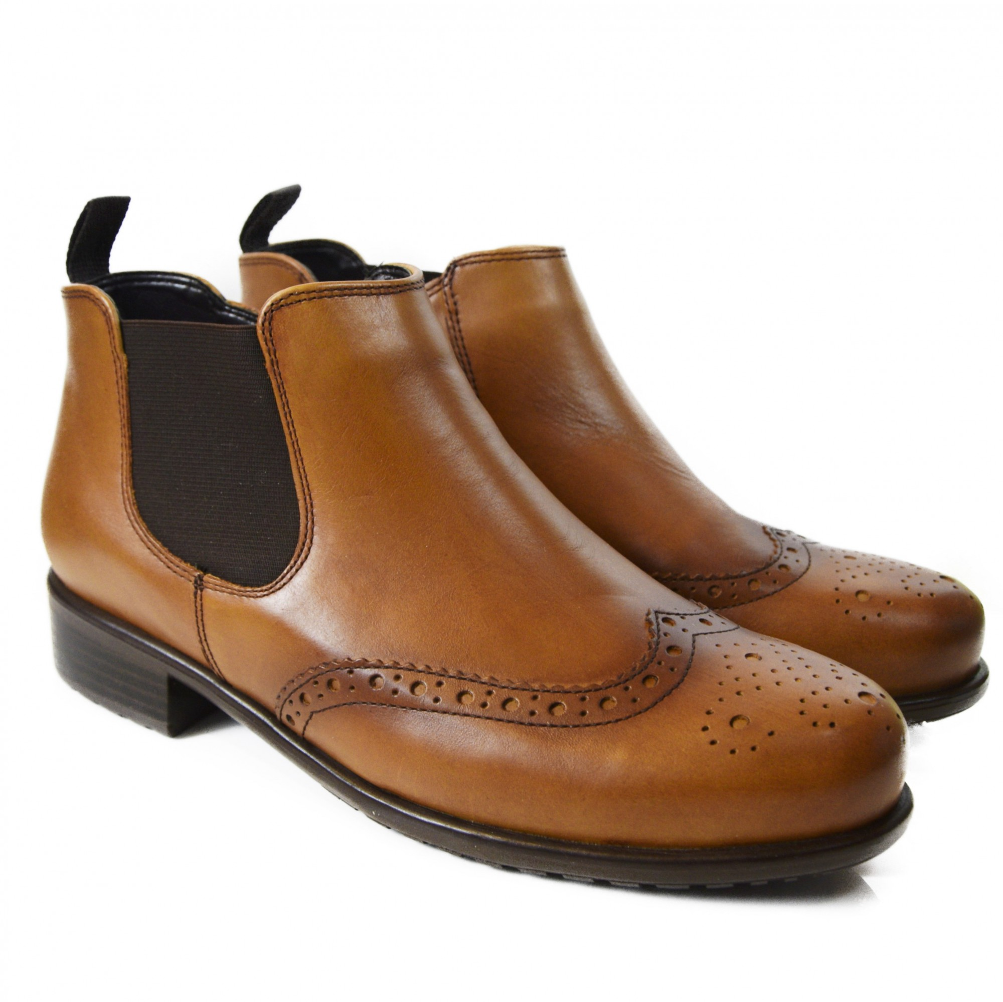 ARA WOMEN BOOT WITH ZIP LIVERPOOL BROWN LEATHER | Woman Shoes and ...