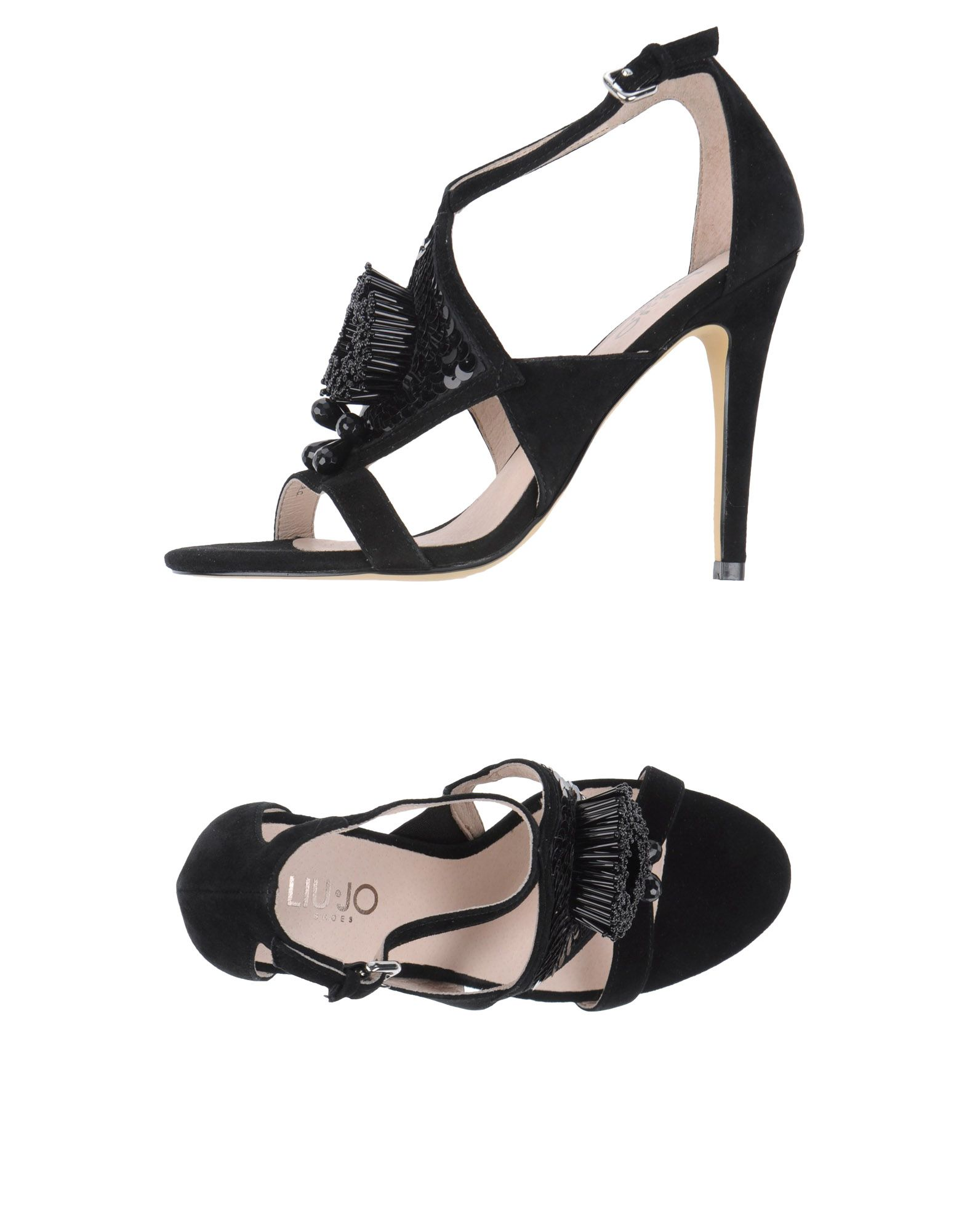 liu jo jeans sale, LIU •JO SHOES Sandals Black women Footwear,liu jo ...