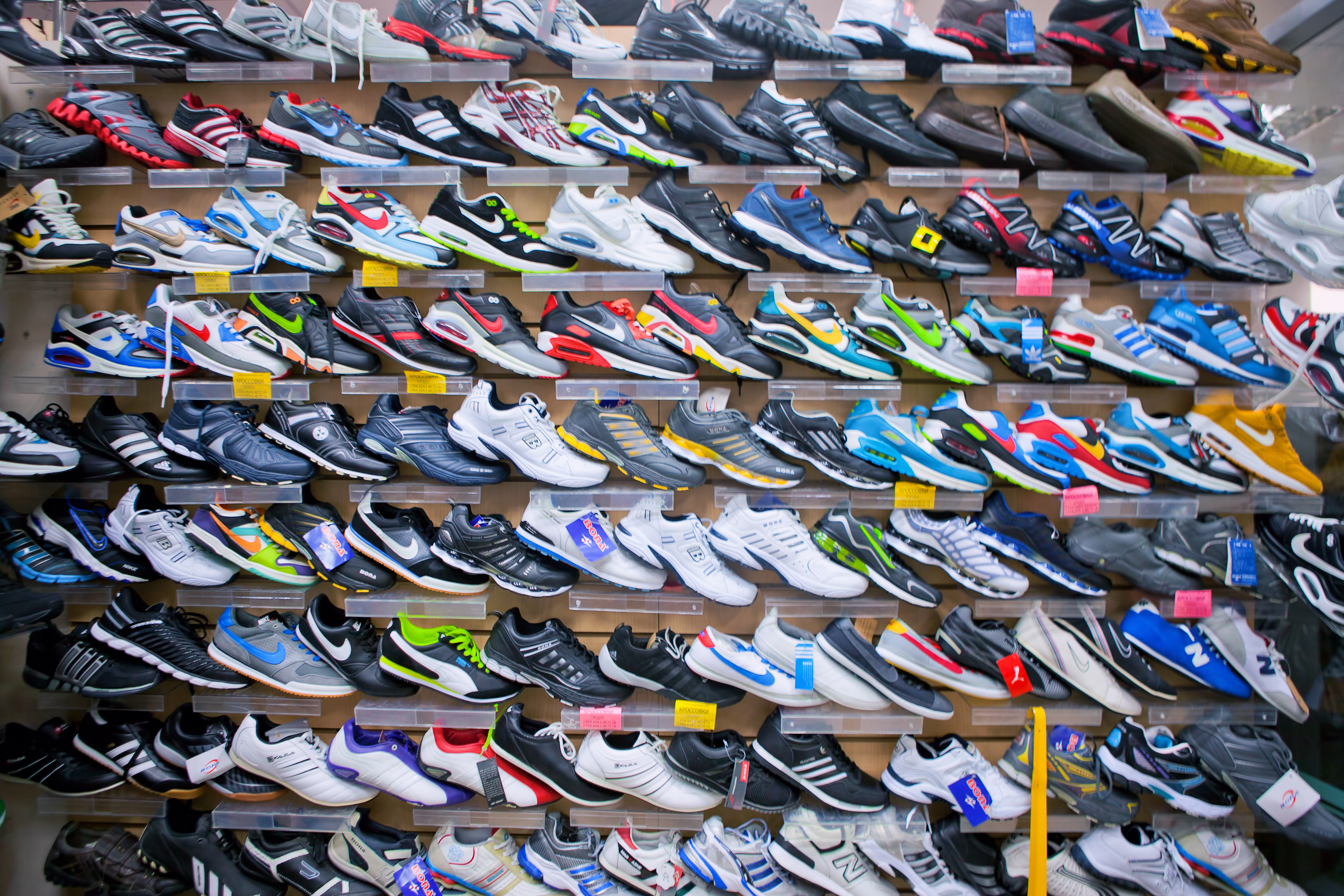 Shoes on sale - Store, Sale, Storage