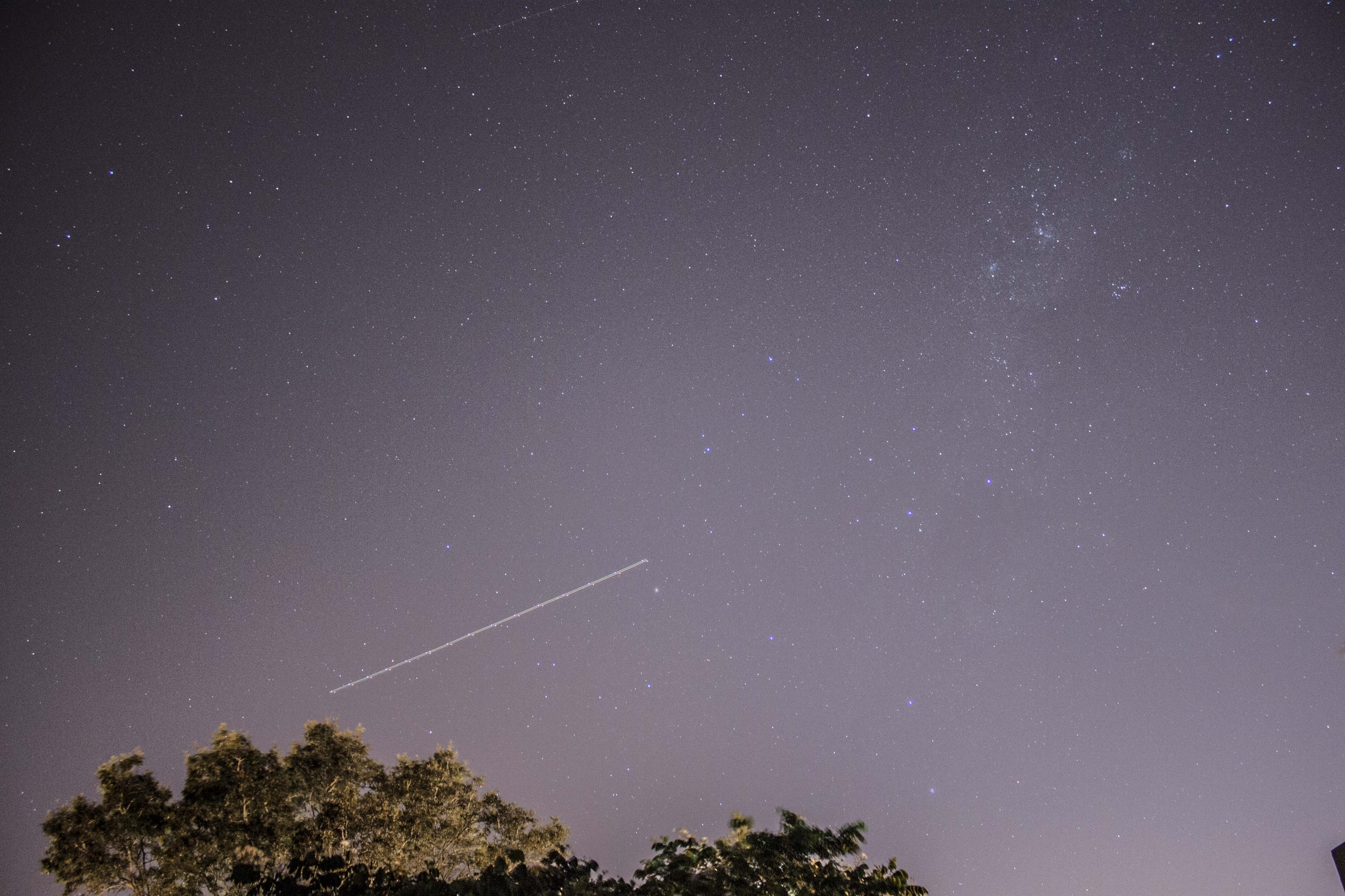 Shooting Star, Nature, Night, Shooting, Sky, HQ Photo