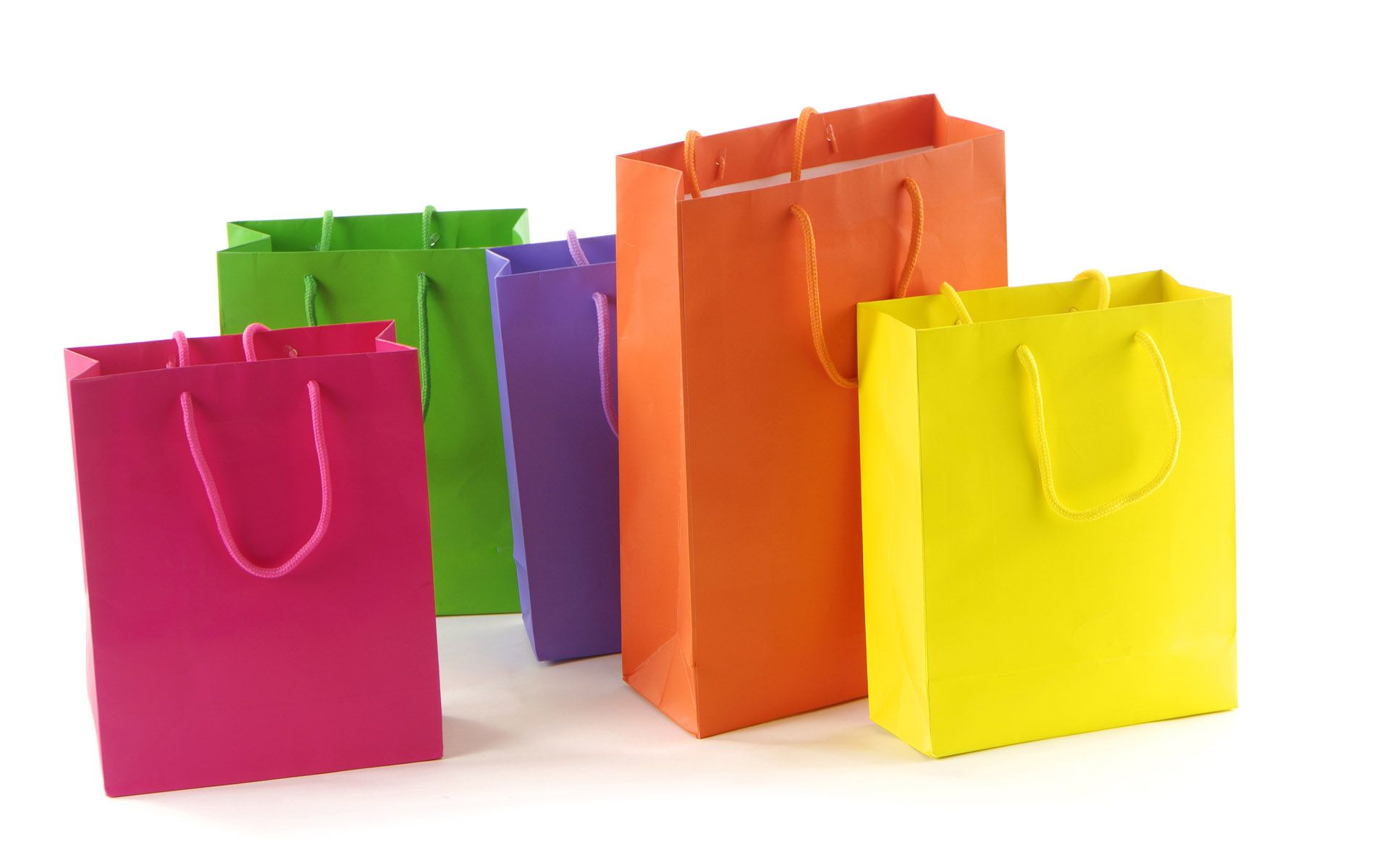 Cartoon Shopping Bags | Colours and Designs : Creative Design and ...