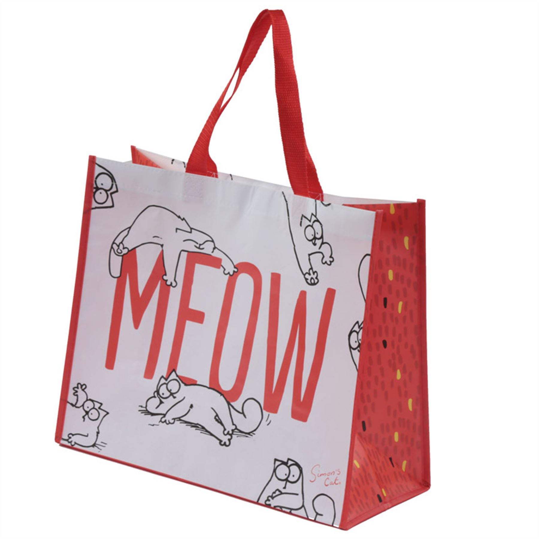 Simons Cat Shopping Bag 33cm High Tote Bag Reusable Simon's Cat | eBay