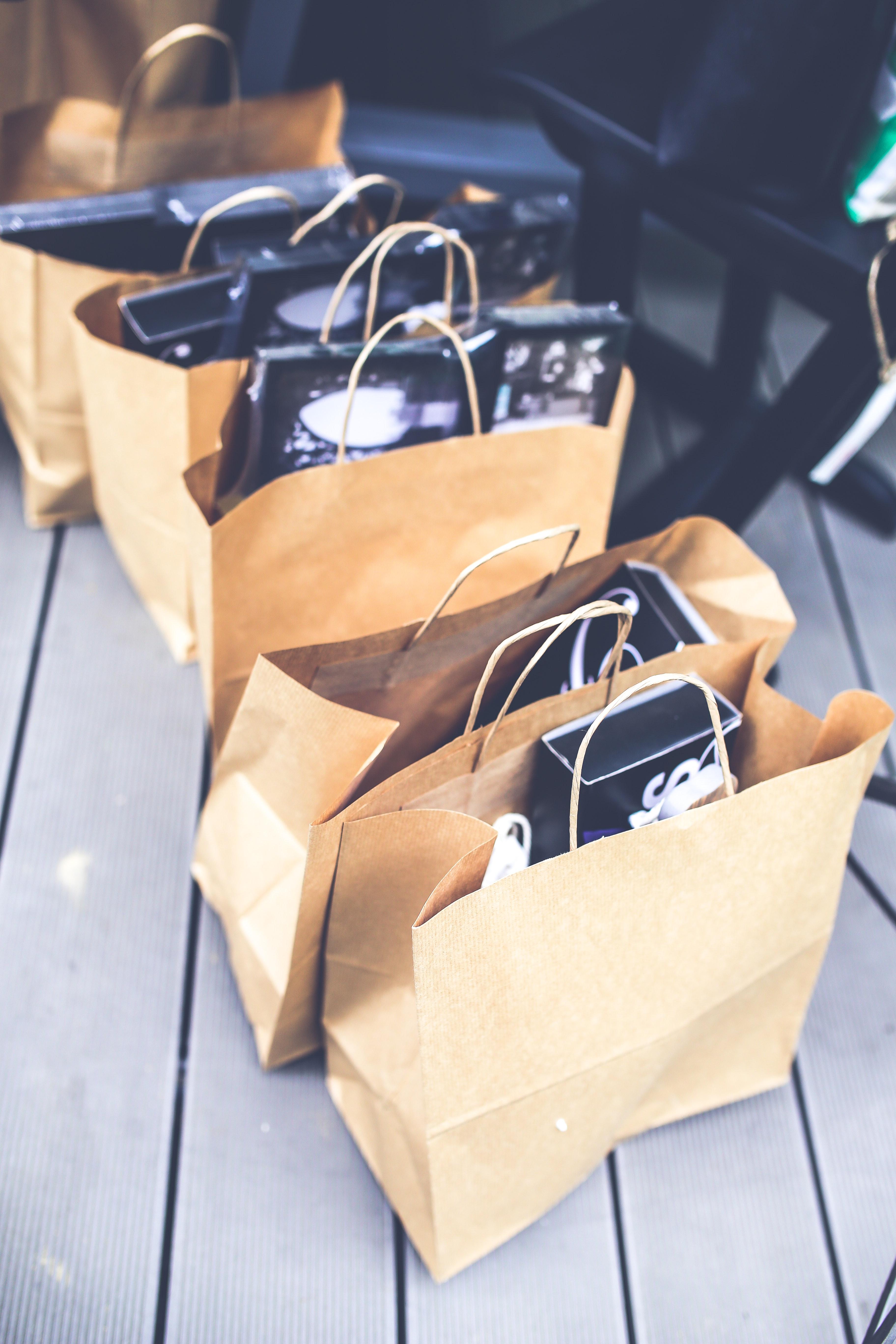 Shopping bags, Market, Stock, Shopping, Shop, HQ Photo