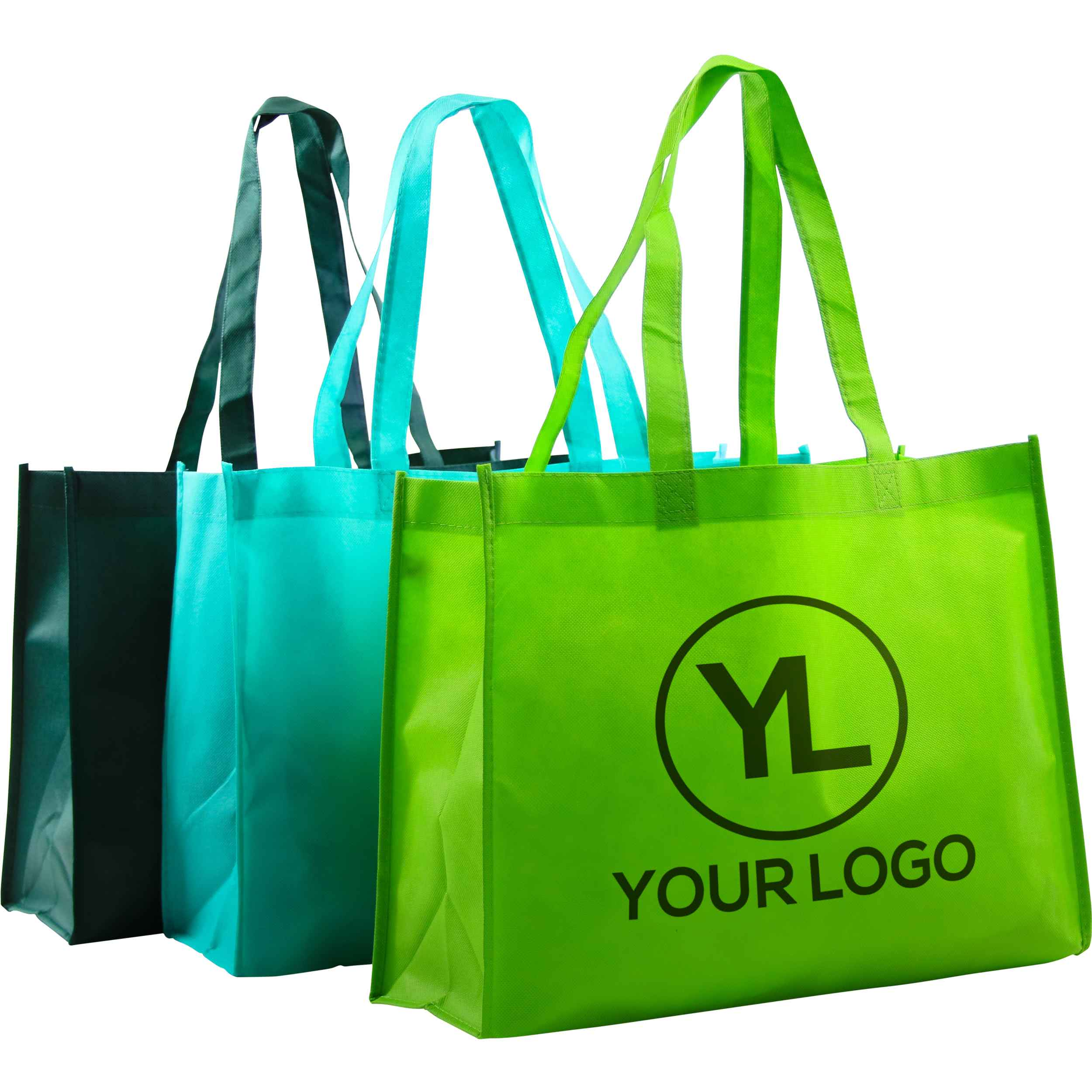 Promotional Medium Eco-Friendly Non Woven Tote Bags with Custom Logo ...