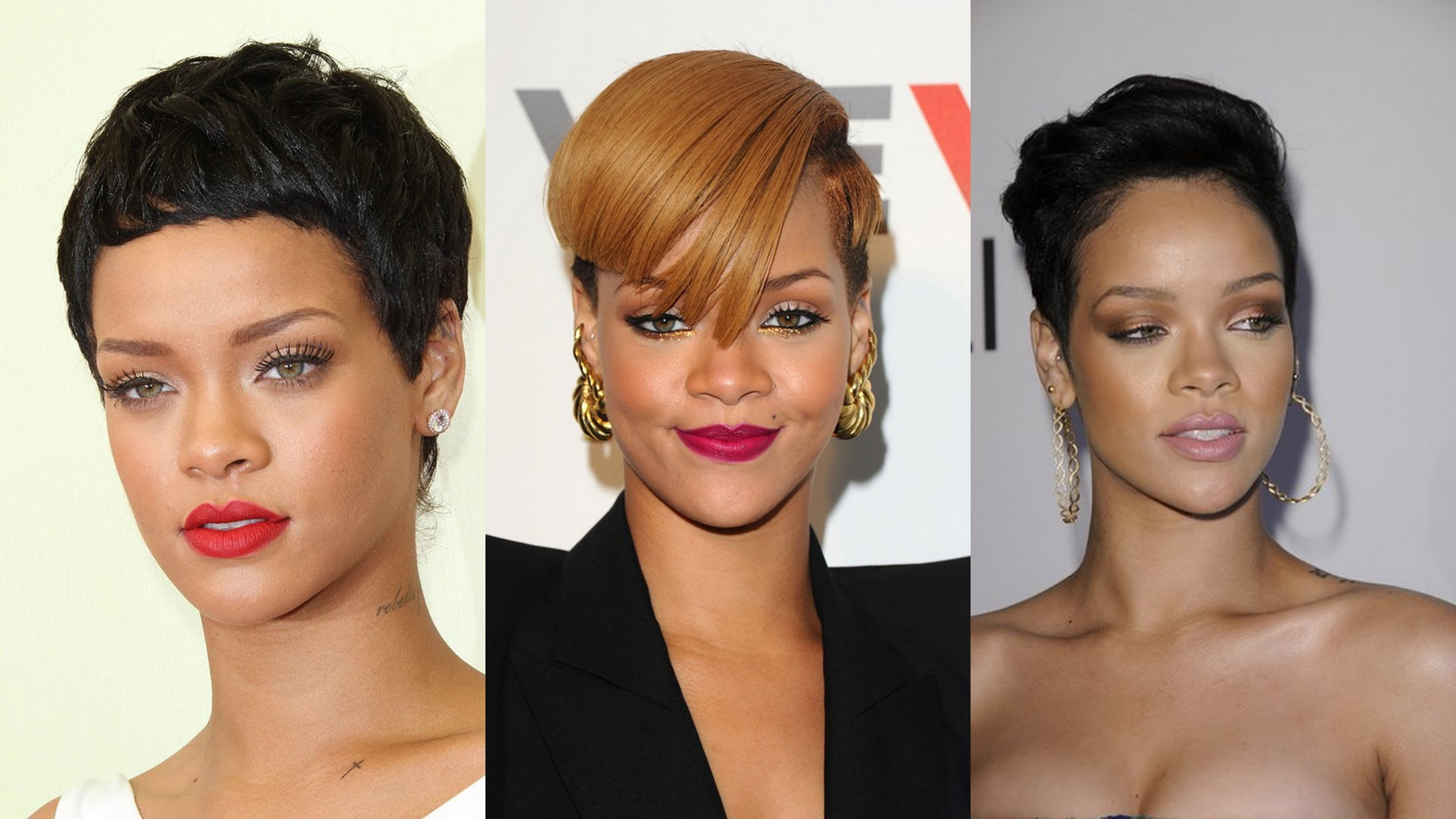 Hairstyles ~ Rihanna Short Hairstyles Youtube Rihanna Short Cut ...
