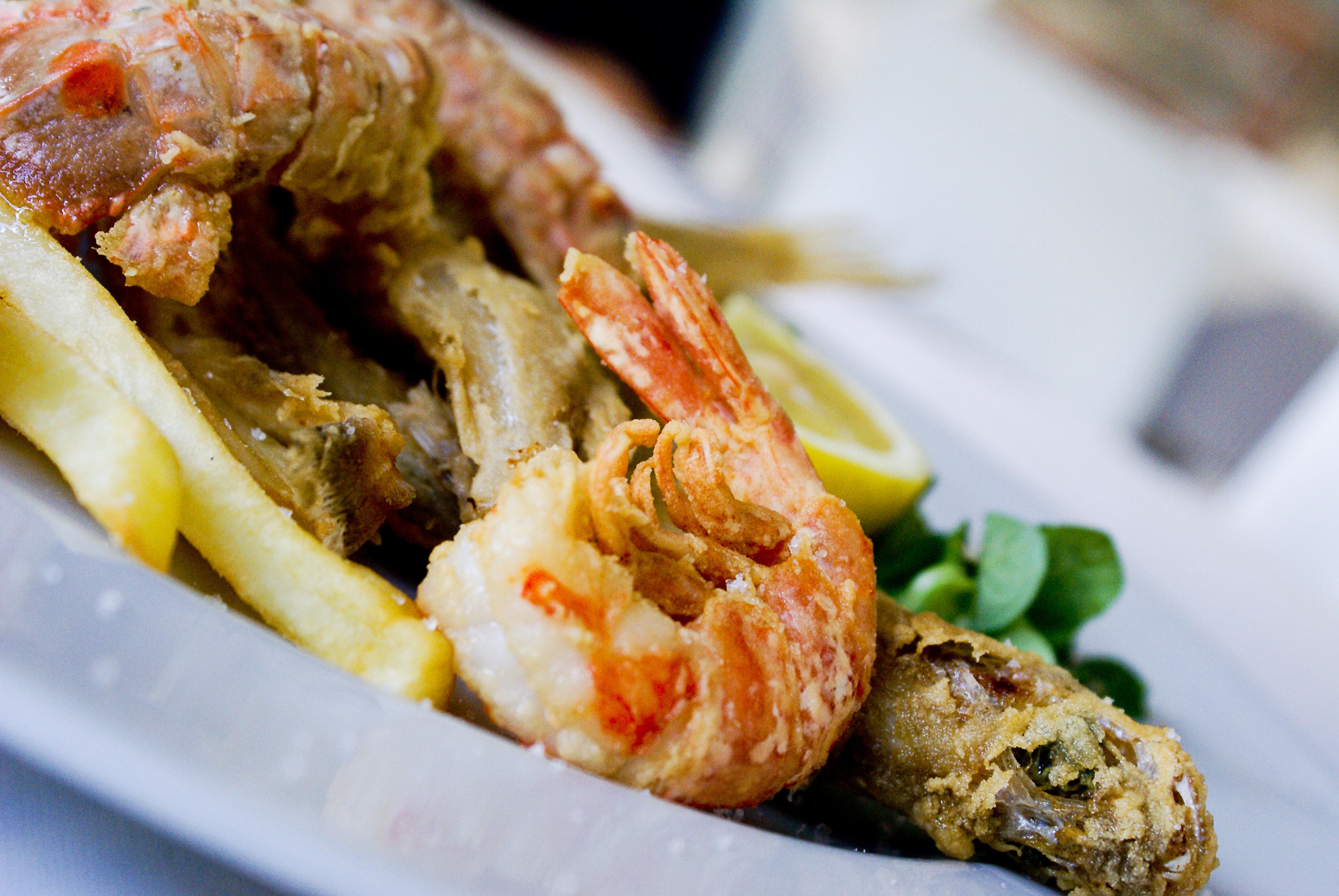 Shrimp dish photo