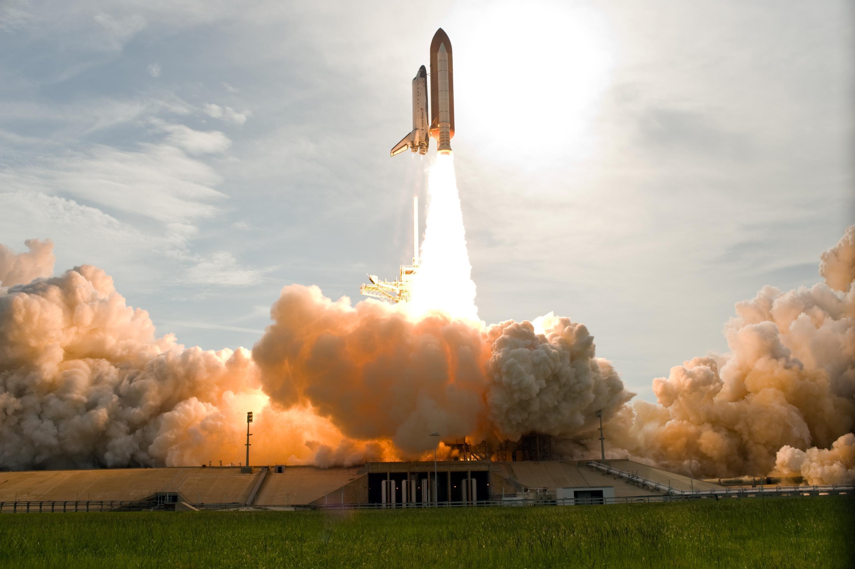 Shuttle Liftoff, Liftoff, Nasa, Shuttle, Space, HQ Photo