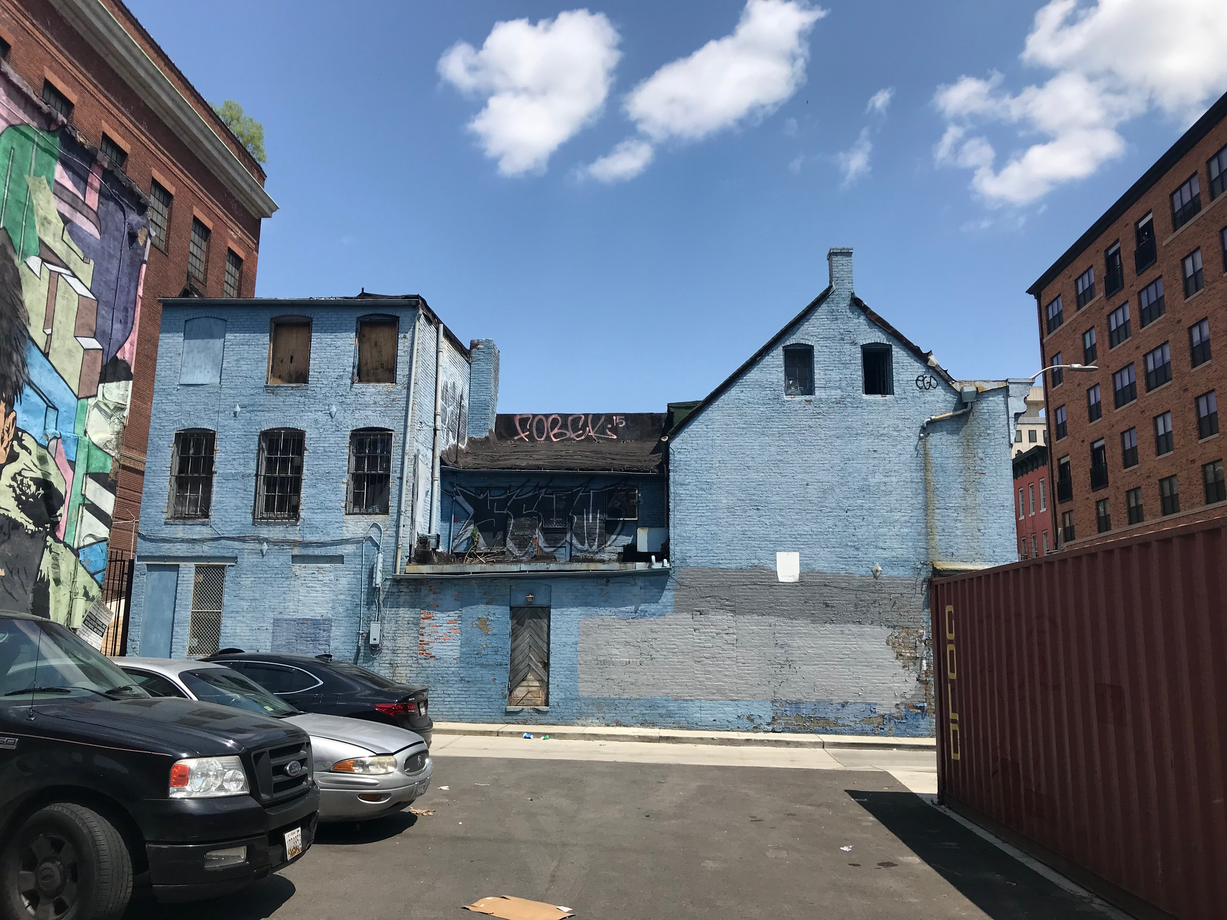 Side from tyson street, martick's restaurant francais, 214 w. mulberry street, baltimore, md 21201 photo
