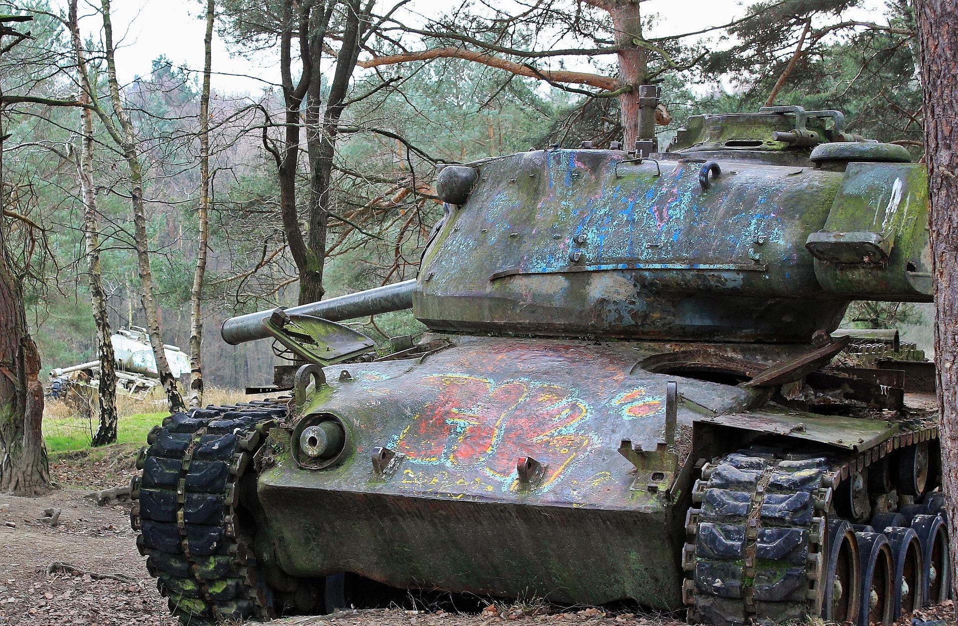 Siegfried Line Aachen, Aachen, Destruction, Fire, Metal, HQ Photo